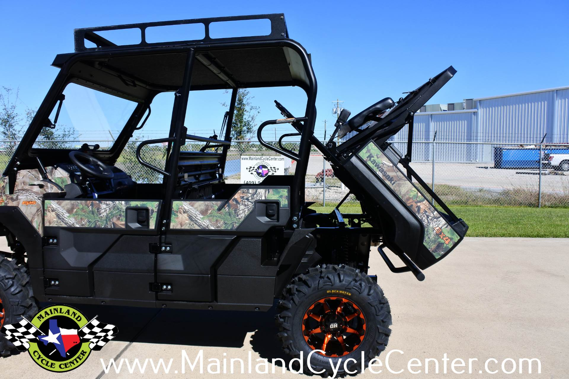 2018 Kawasaki Mule PRO-FXT EPS Camo in La Marque, Texas - Photo 31