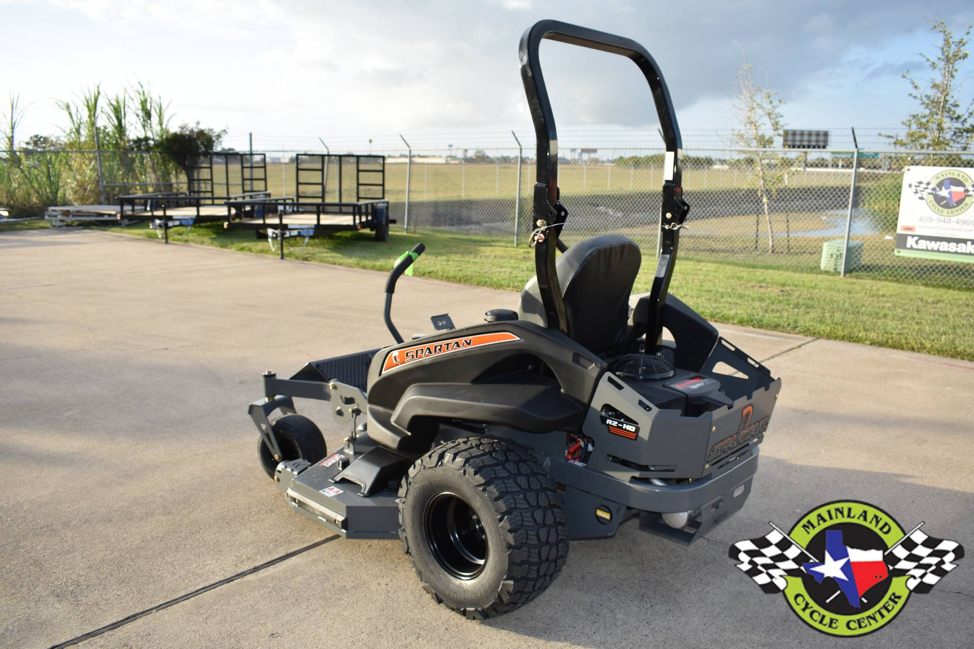 2021 Spartan Mowers RZ-HD 54 in. Kawasaki FR691V 23 hp in La Marque, Texas - Photo 6