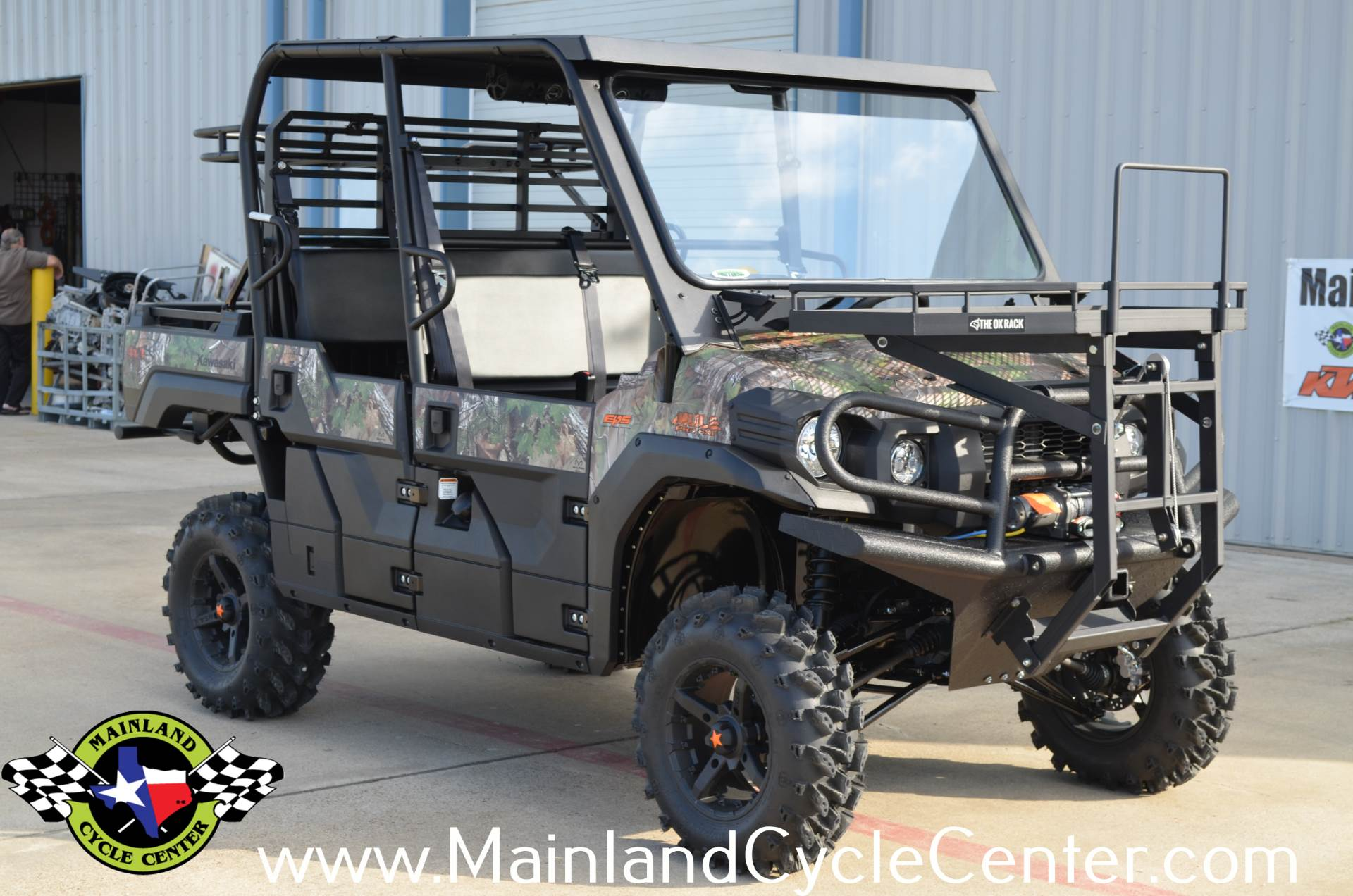 Winch For Kawasaki Mule Pro Fxt