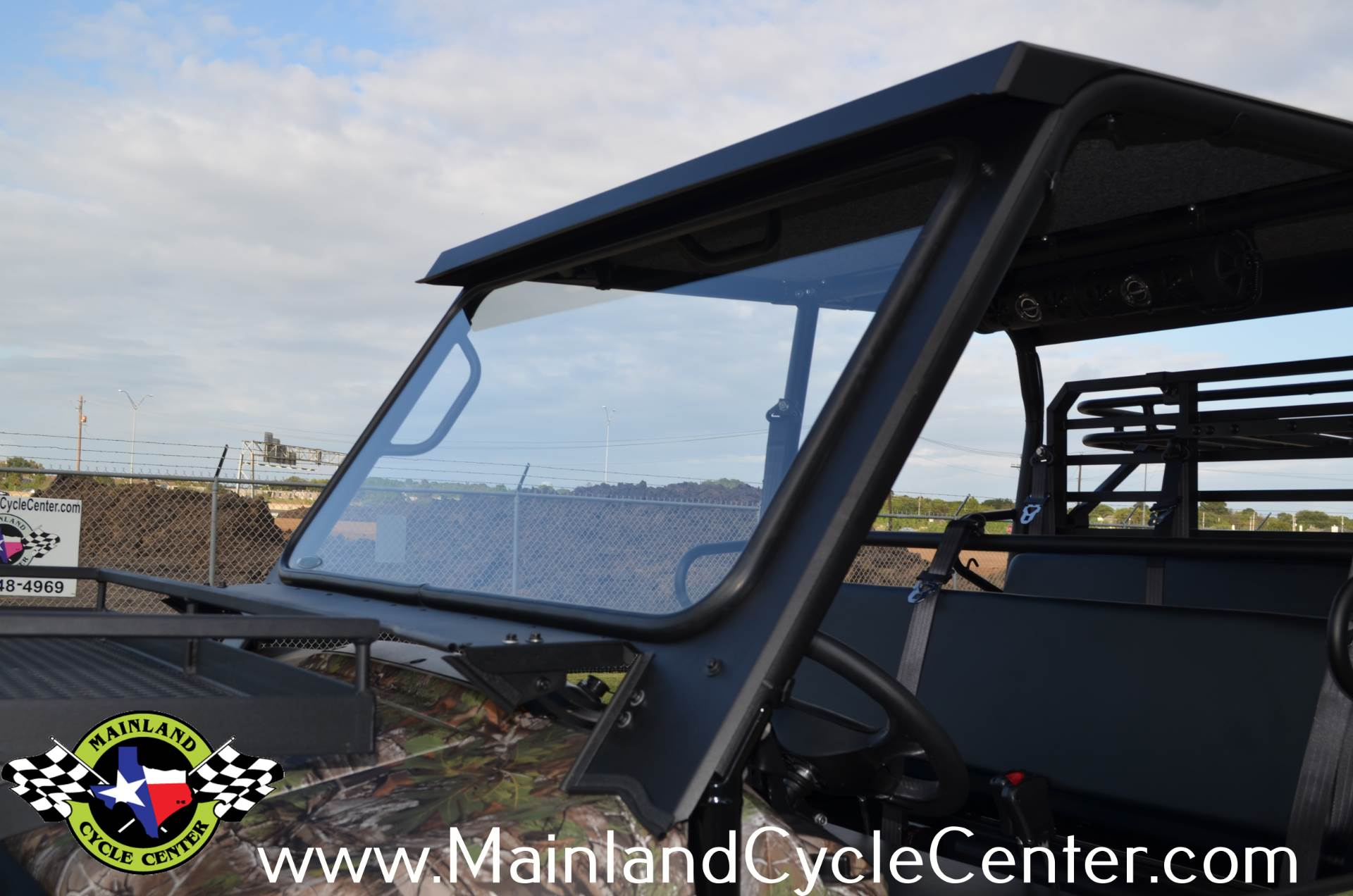 Kawasaki Mule Pro Fxt Glass Windshield