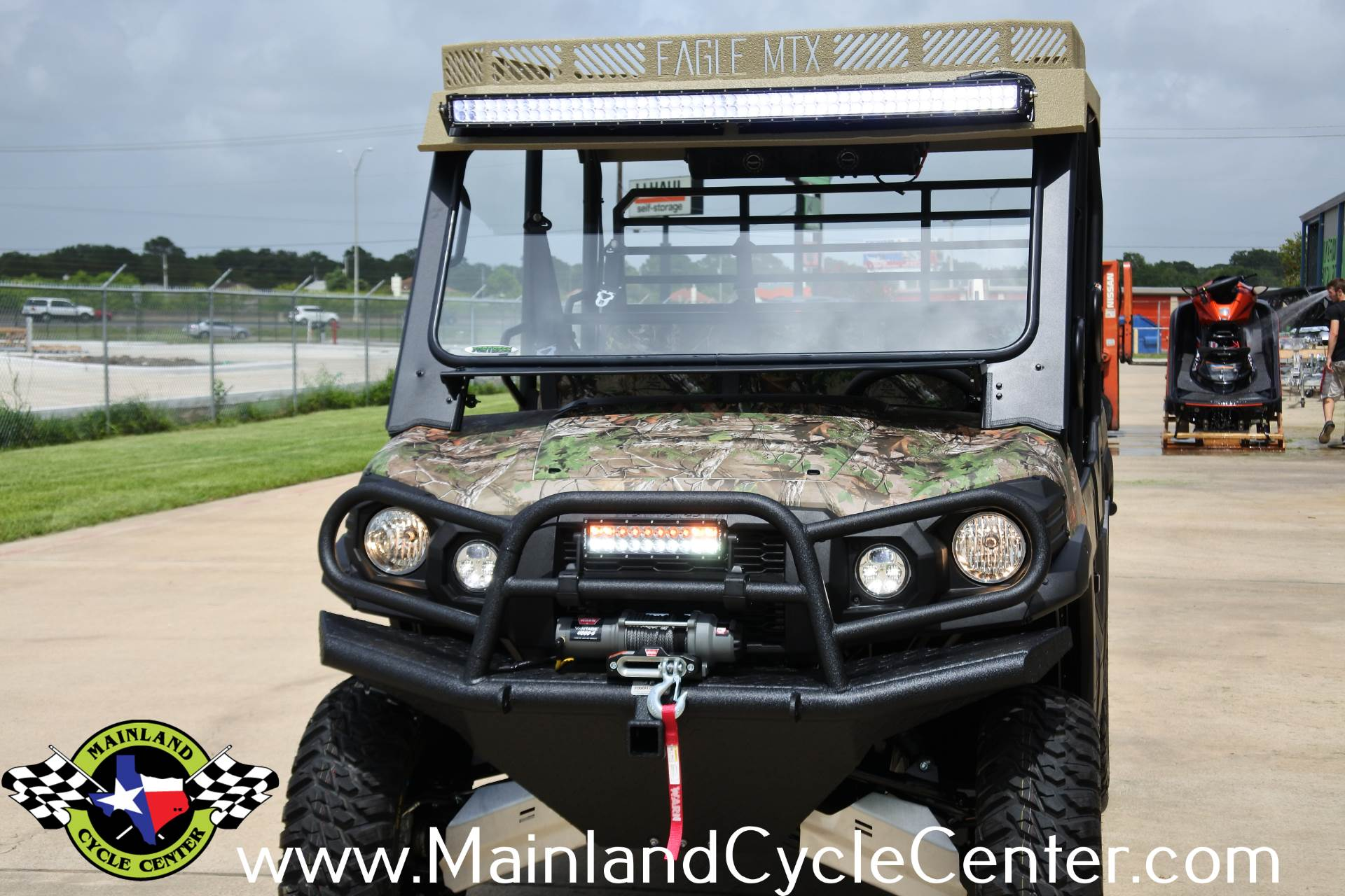2017 Kawasaki Mule PRO-FXT EPS Camo in La Marque, Texas - Photo 34