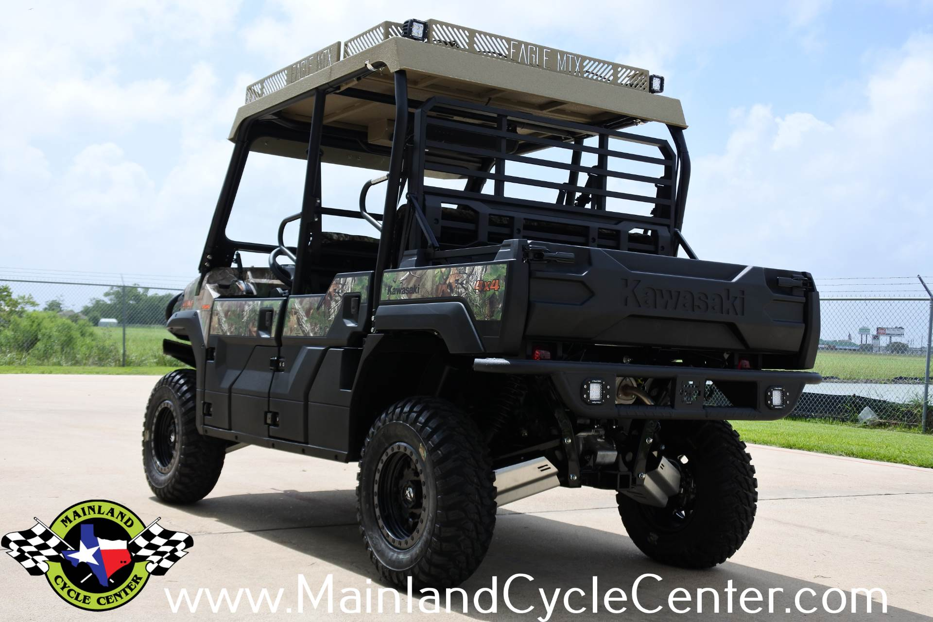 2017 Kawasaki Mule PRO-FXT EPS Camo in La Marque, Texas - Photo 8
