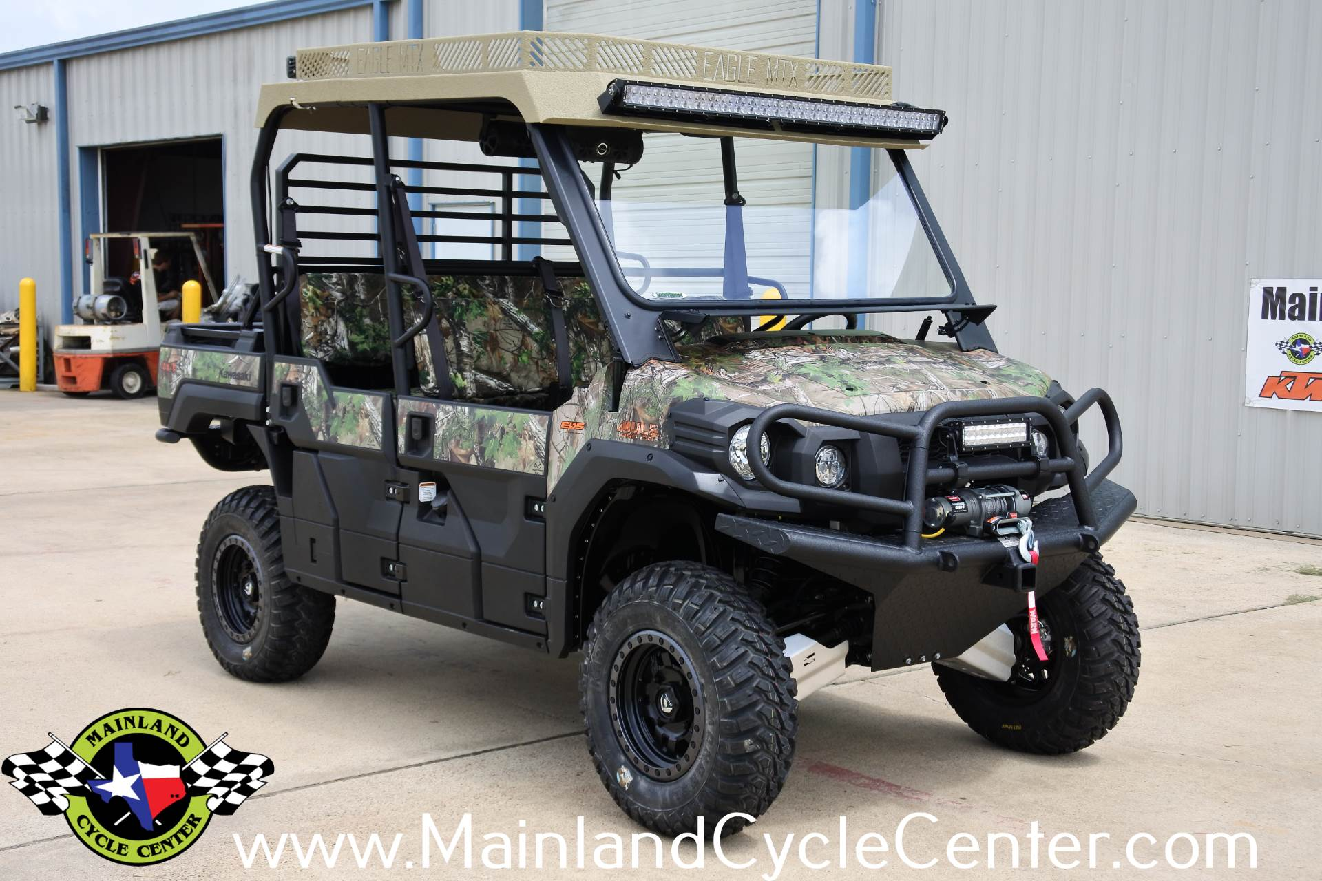 2017 Kawasaki Mule PRO-FXT EPS Camo in La Marque, Texas - Photo 3