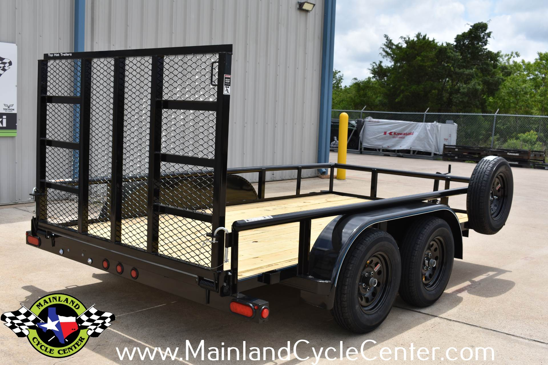 2019 Top Hat Industries 12 X 77 EP Pipe Top Tandem Axle in La Marque, Texas - Photo 3