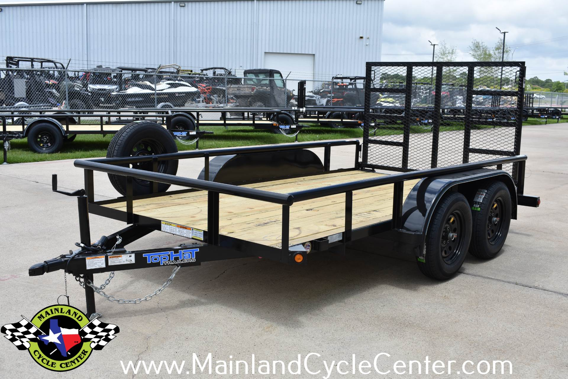 2019 Top Hat Industries 12 X 77 EP Pipe Top Tandem Axle in La Marque, Texas - Photo 7
