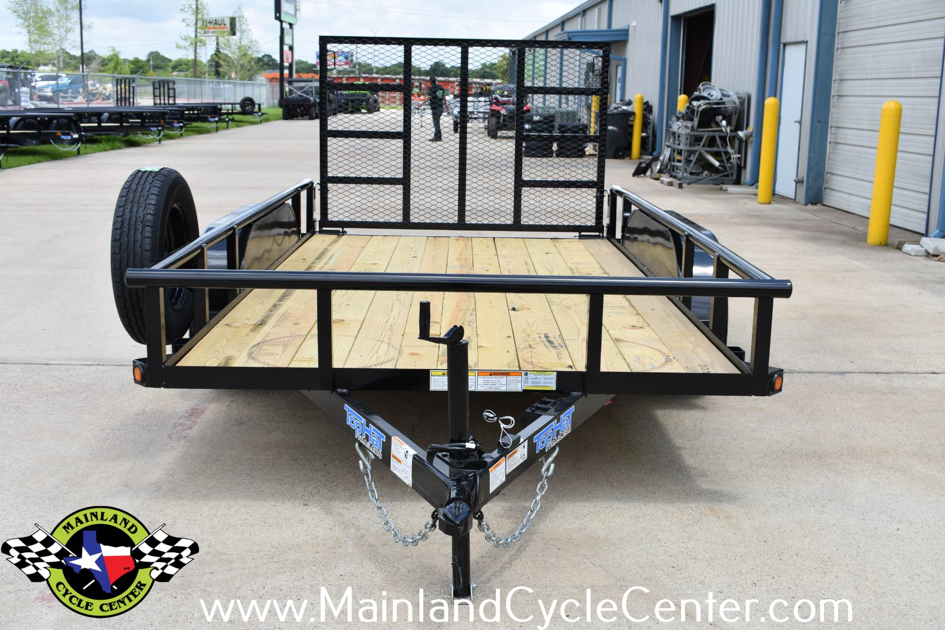 2019 Top Hat Industries 12 X 77 EP Pipe Top Tandem Axle in La Marque, Texas - Photo 8