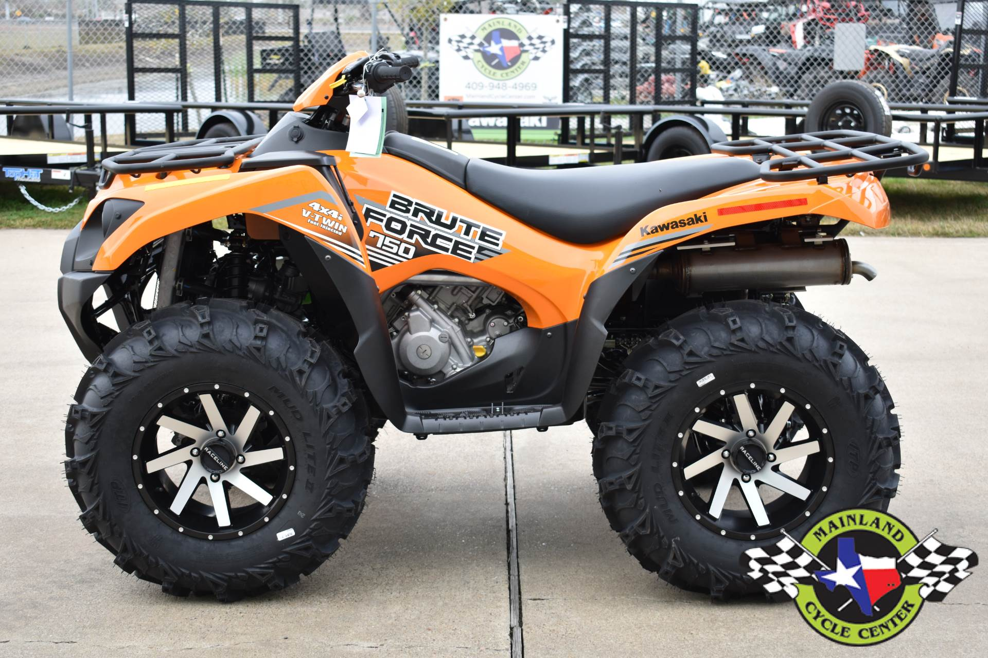 2020 Kawasaki Brute Force 750 4x4i EPS in La Marque, Texas - Photo 4