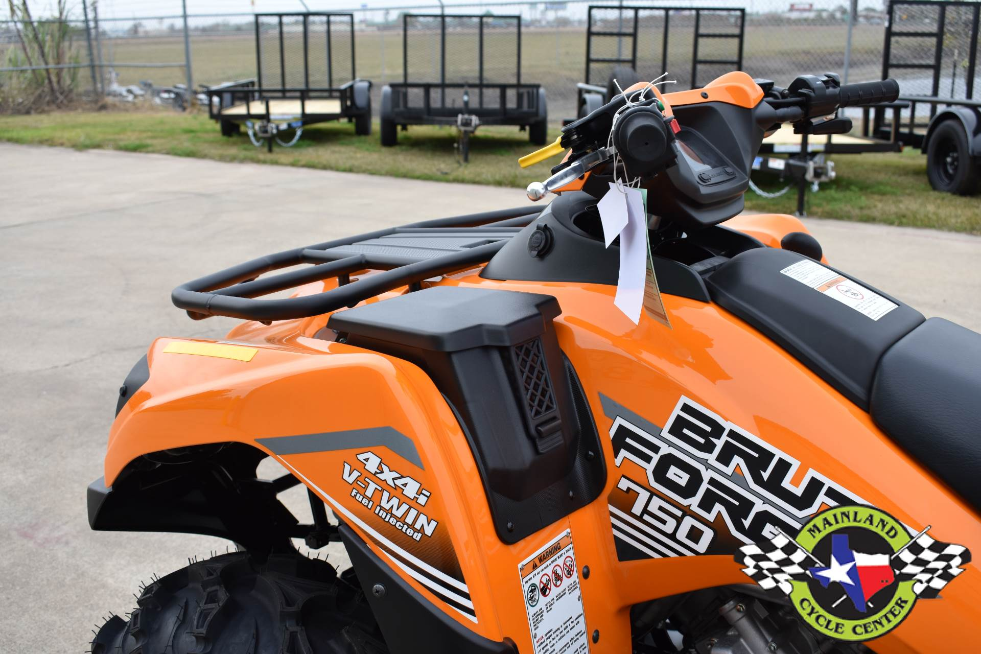 2020 Kawasaki Brute Force 750 4x4i EPS in La Marque, Texas - Photo 16
