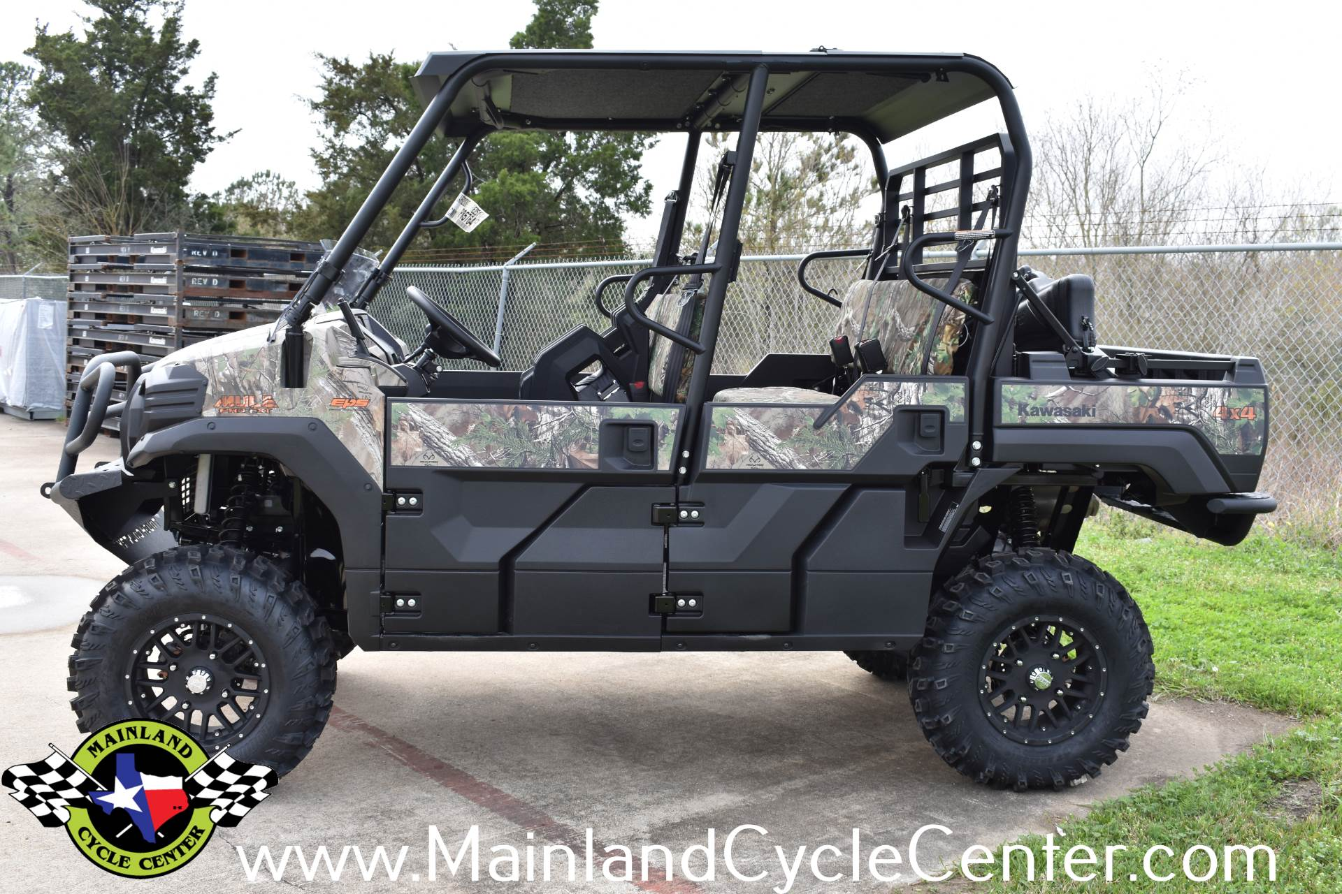 2019 Kawasaki Mule PRO-FXT EPS Camo in La Marque, Texas - Photo 5