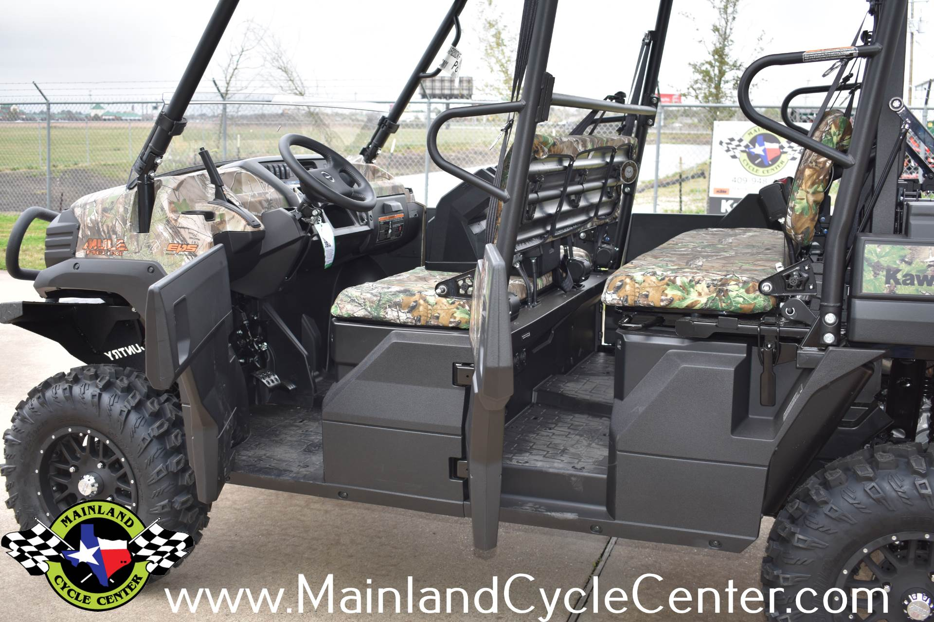 2019 Kawasaki Mule PRO-FXT EPS Camo in La Marque, Texas - Photo 24