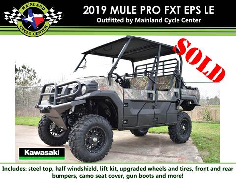 2019 Kawasaki Mule PRO-FXT EPS Camo in La Marque, Texas - Photo 1