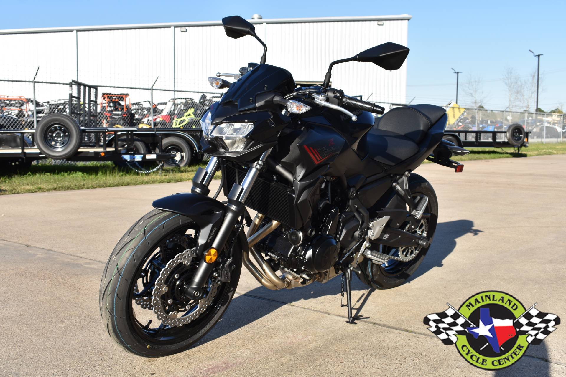 2020 Kawasaki Z650 ABS in La Marque, Texas - Photo 5