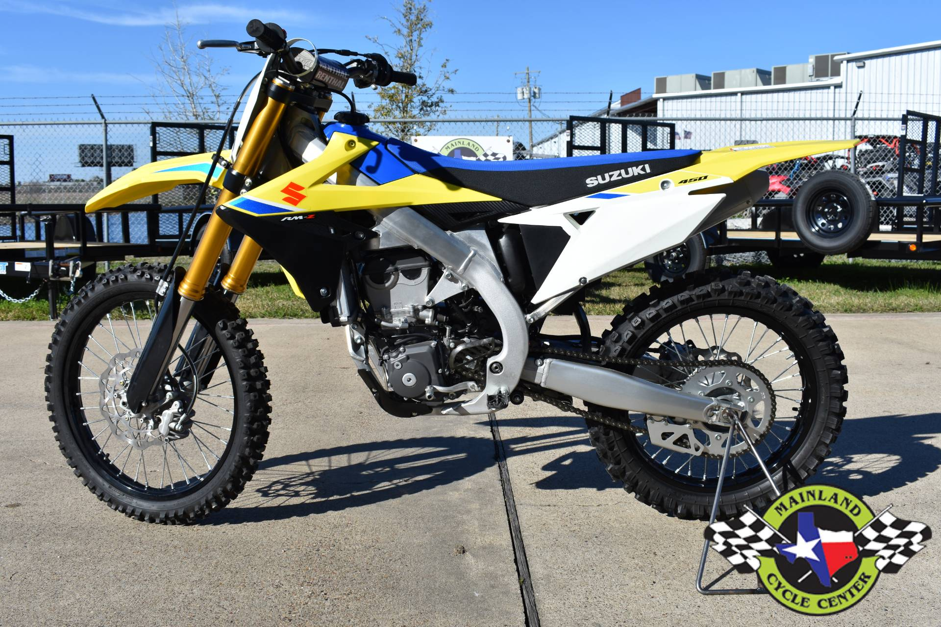 2018 Suzuki RM-Z450 in La Marque, Texas - Photo 5