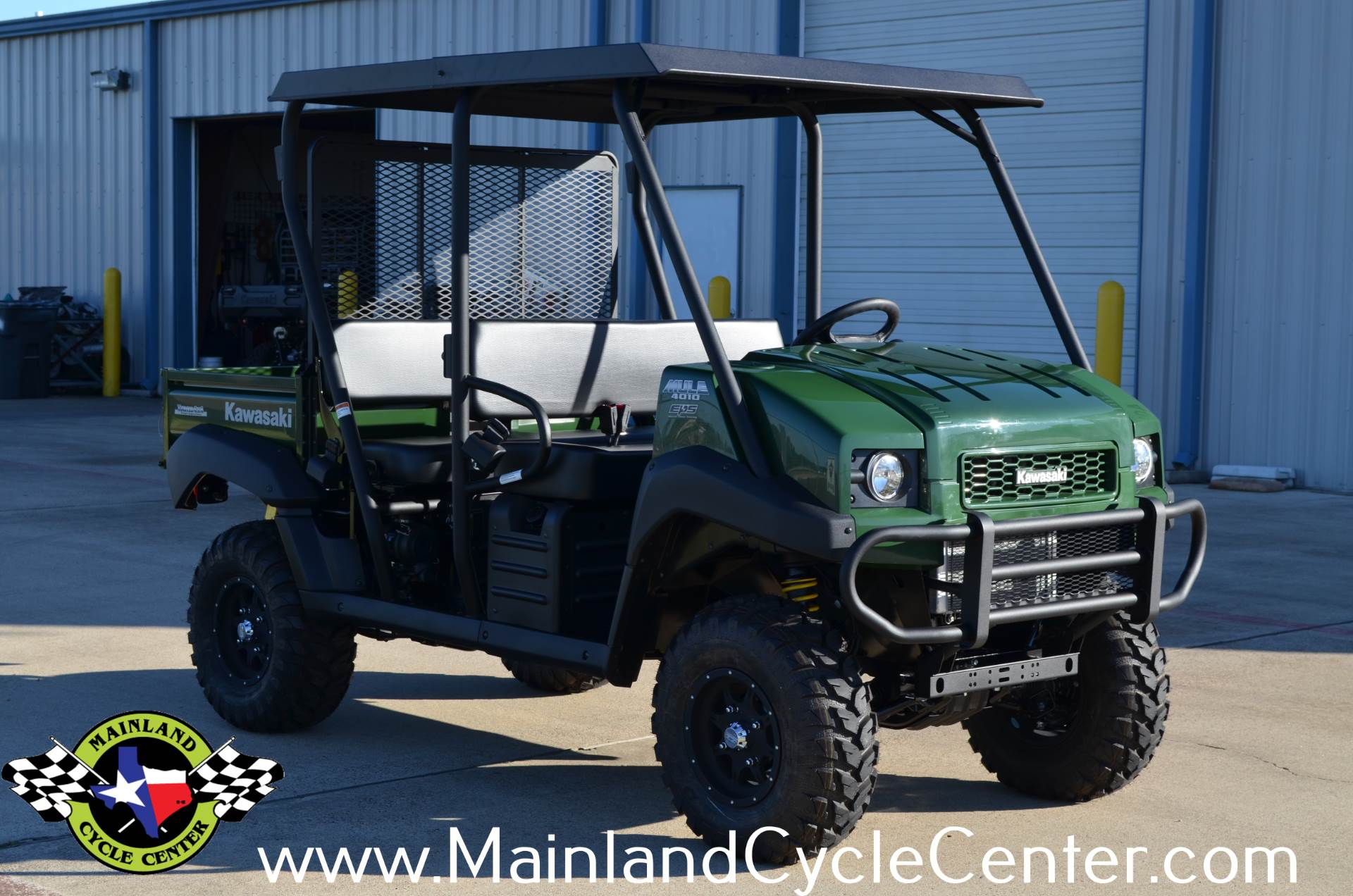 2017 Kawasaki Mule 4010 Trans4x4 in La Marque, Texas - Photo 4