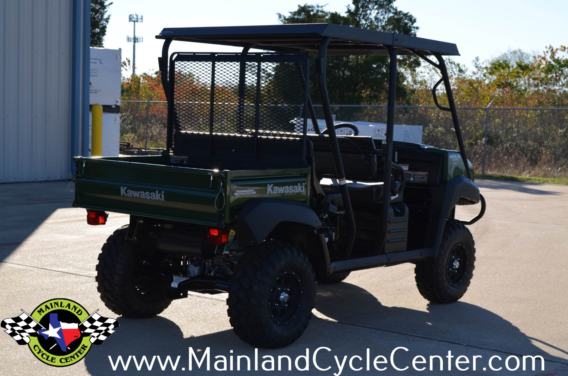 2017 Kawasaki Mule 4010 Trans4x4 in La Marque, Texas - Photo 5