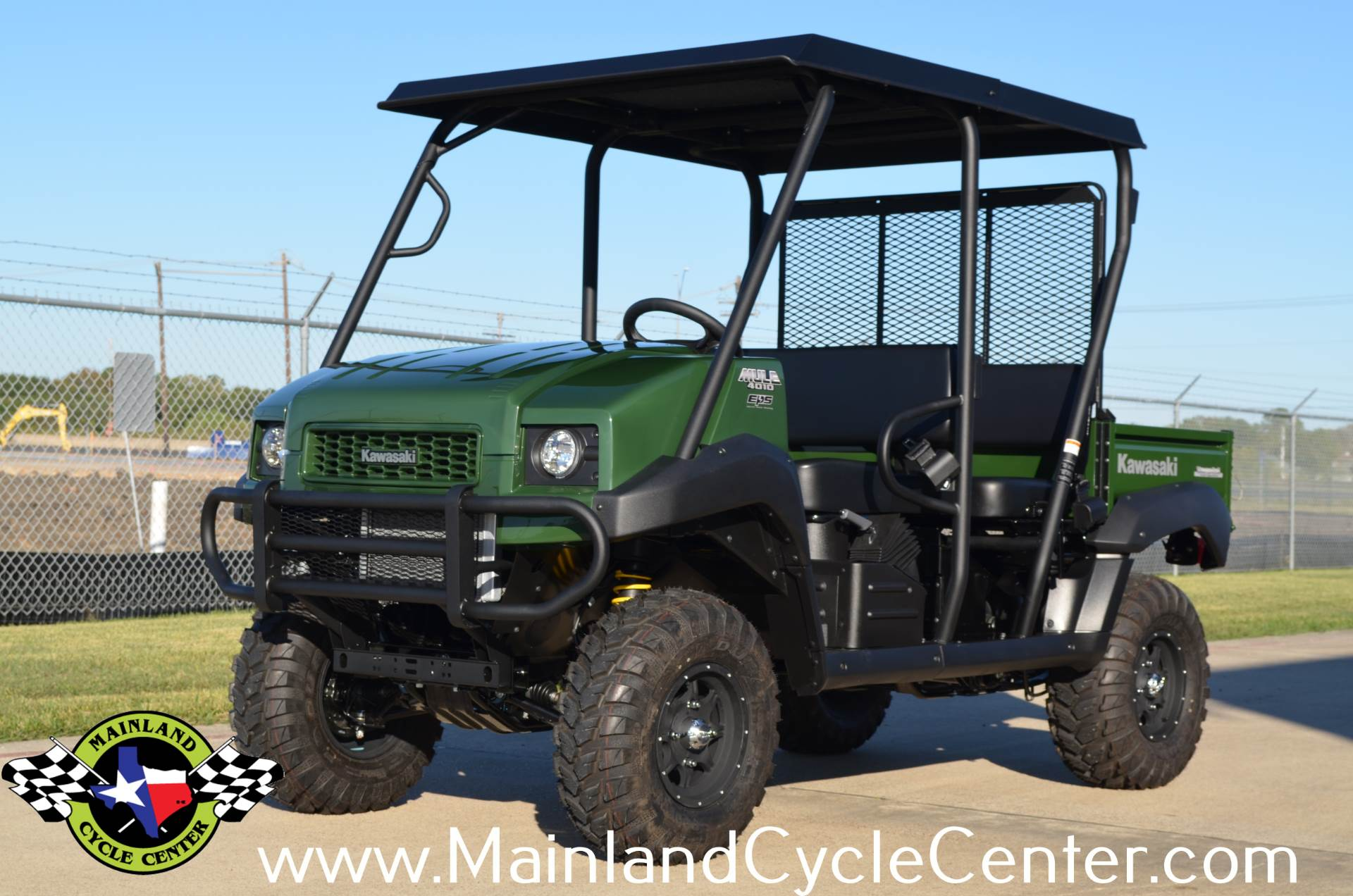 2017 Kawasaki Mule 4010 Trans4x4 in La Marque, Texas - Photo 2