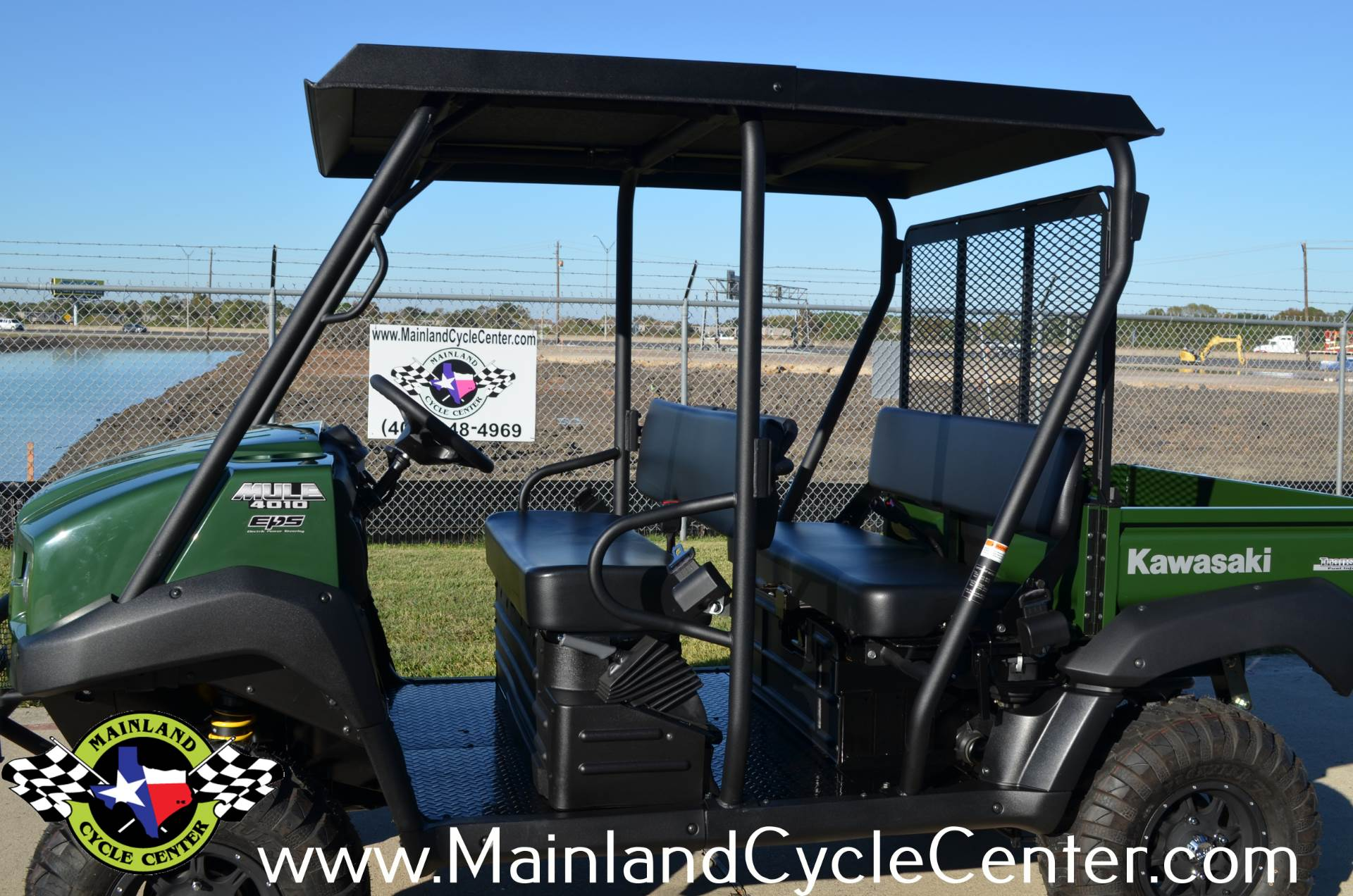 2017 Kawasaki Mule 4010 Trans4x4 in La Marque, Texas - Photo 10