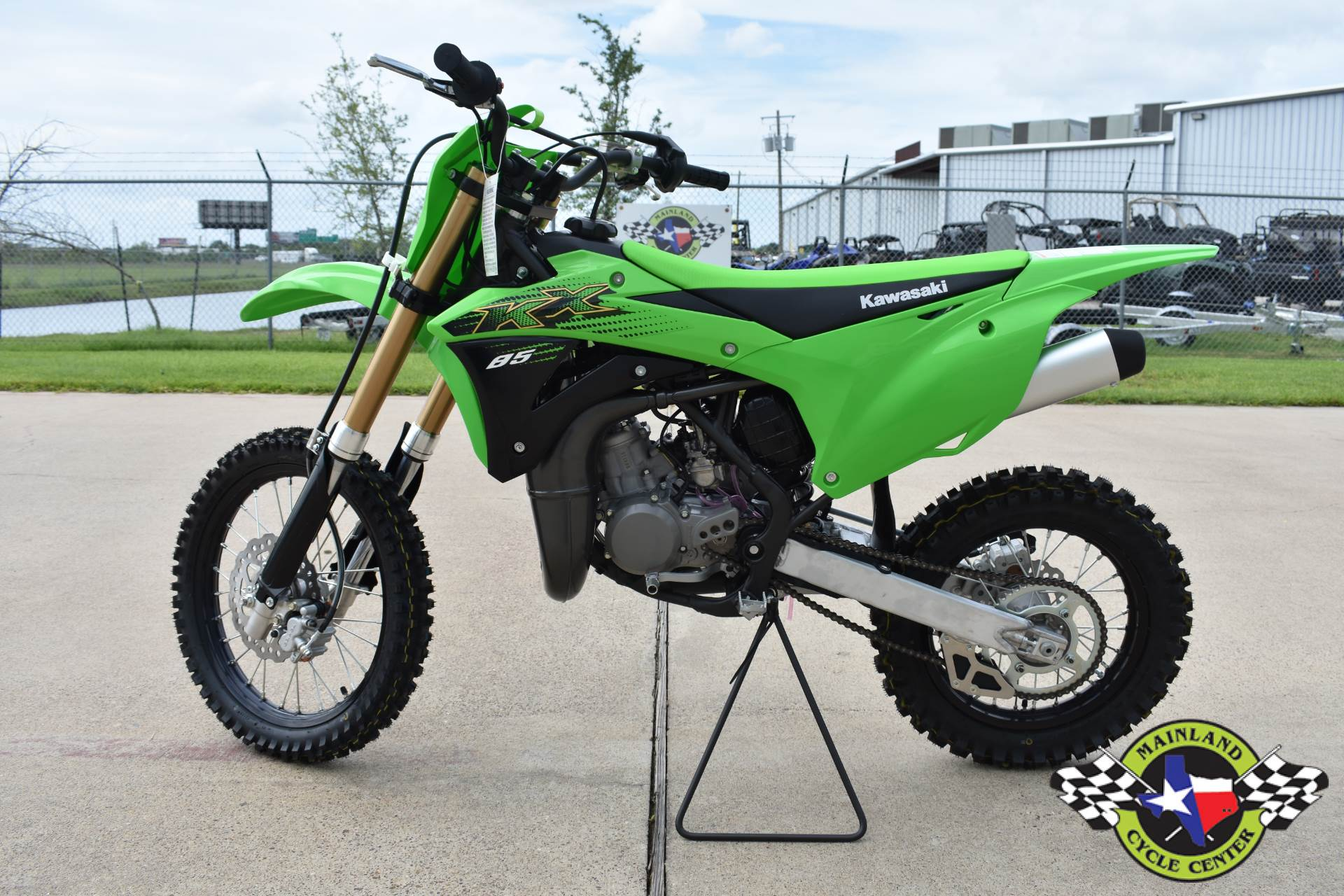 2020 Kawasaki KX 85 in La Marque, Texas - Photo 5