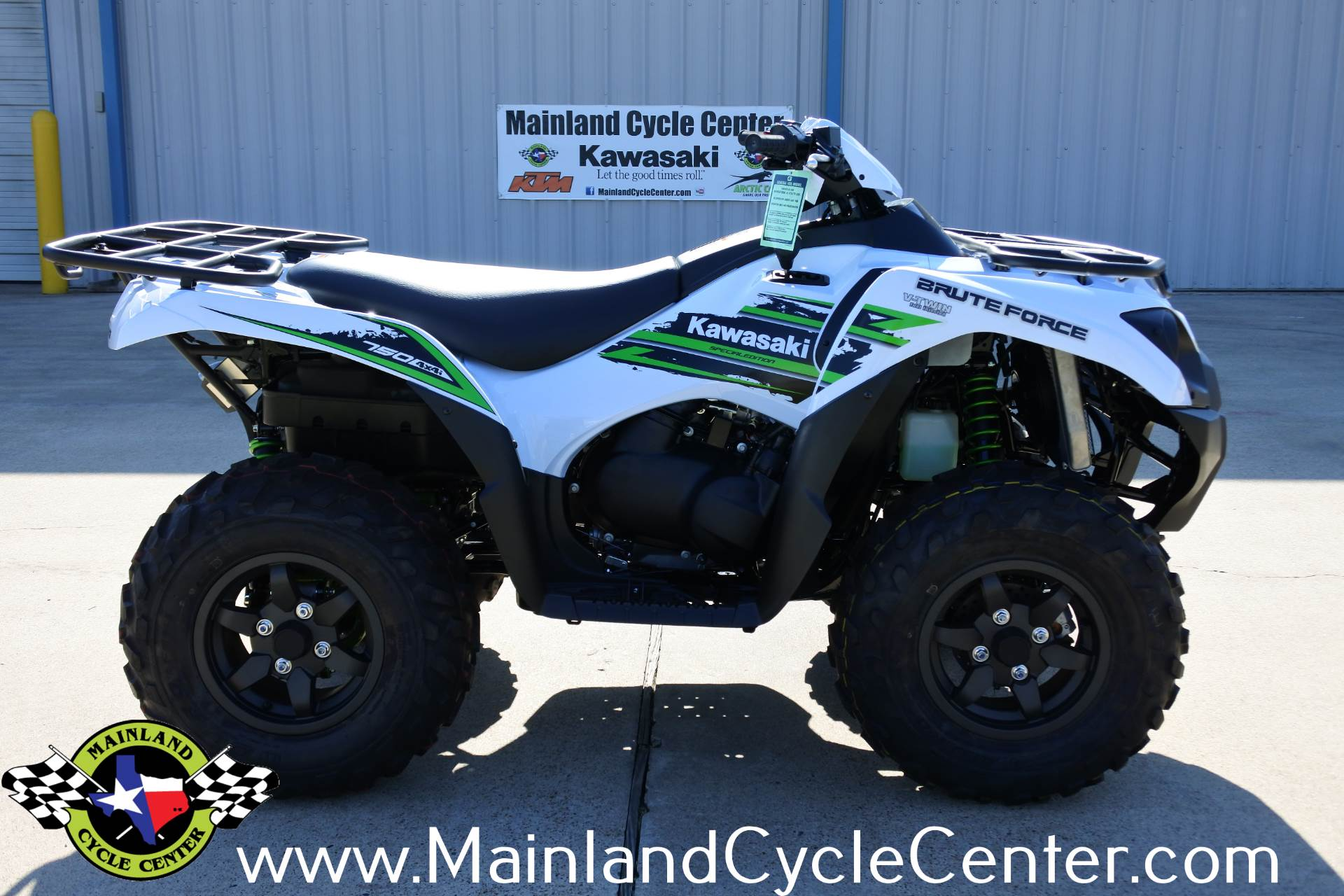 2018 Kawasaki Brute Force 750 4x4i EPS in La Marque, Texas - Photo 2