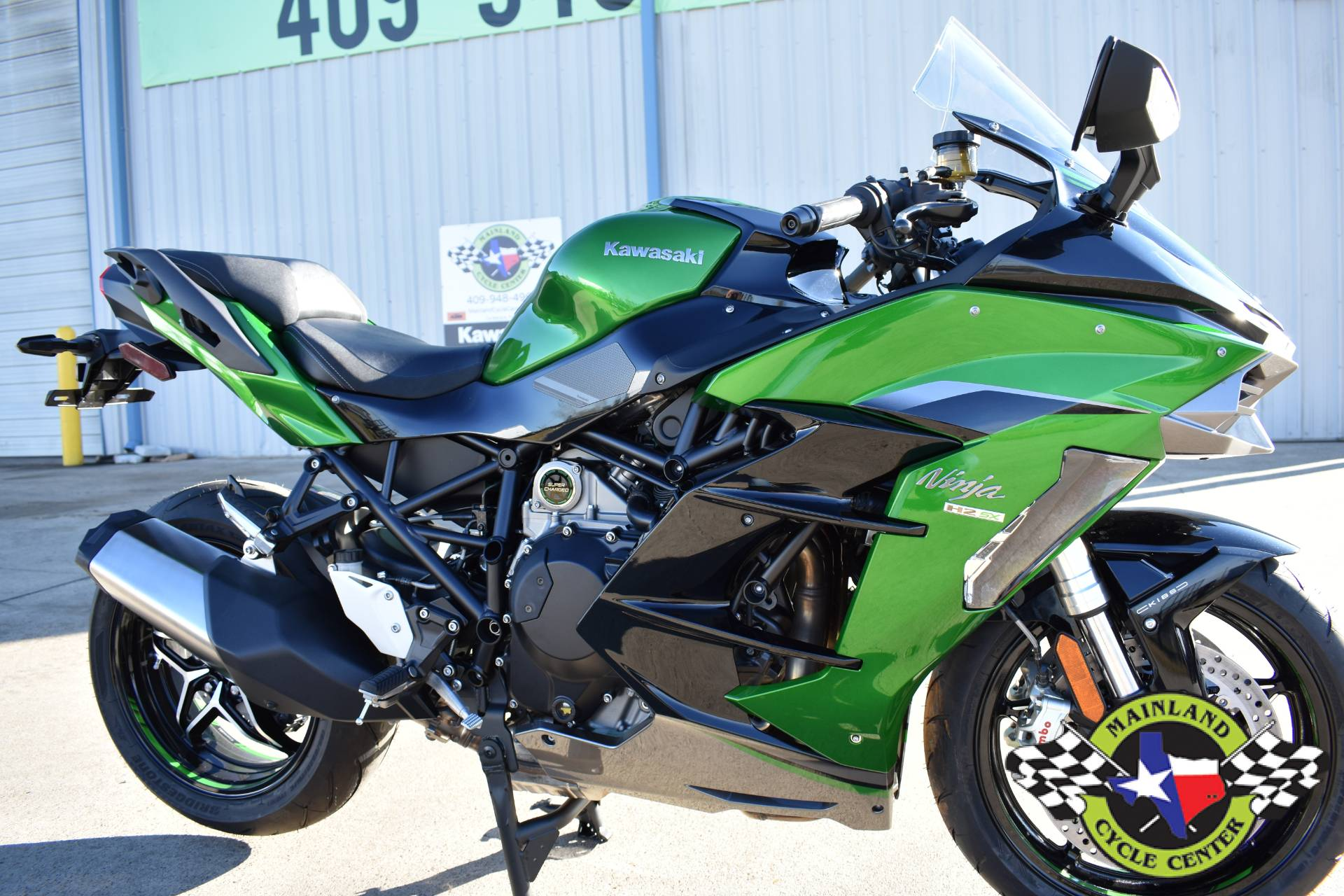 2020 Kawasaki Ninja H2 SX SE+ in La Marque, Texas - Photo 12