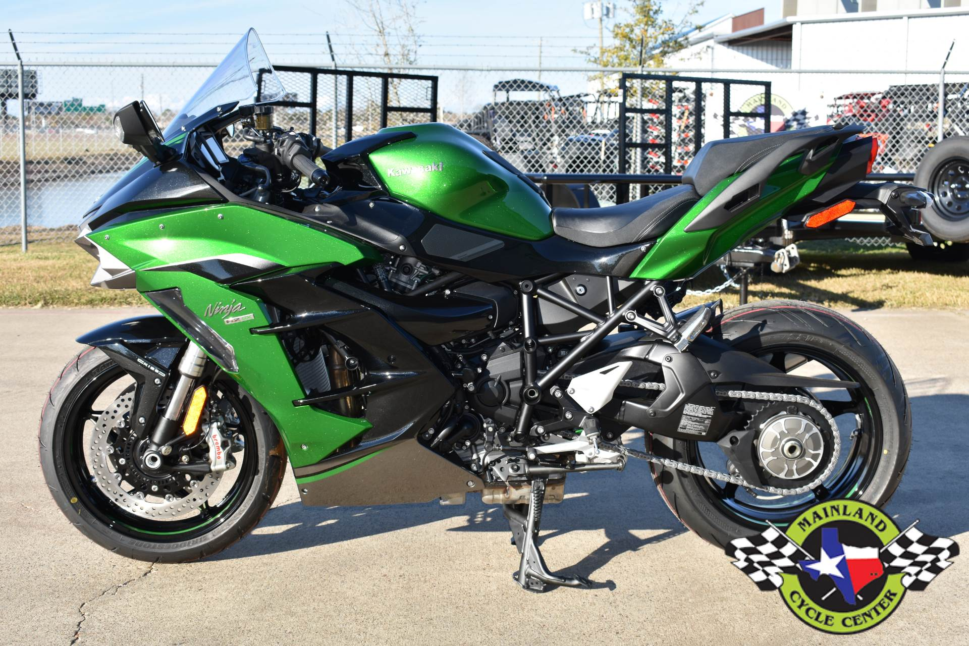 2020 Kawasaki Ninja H2 SX SE+ in La Marque, Texas - Photo 5