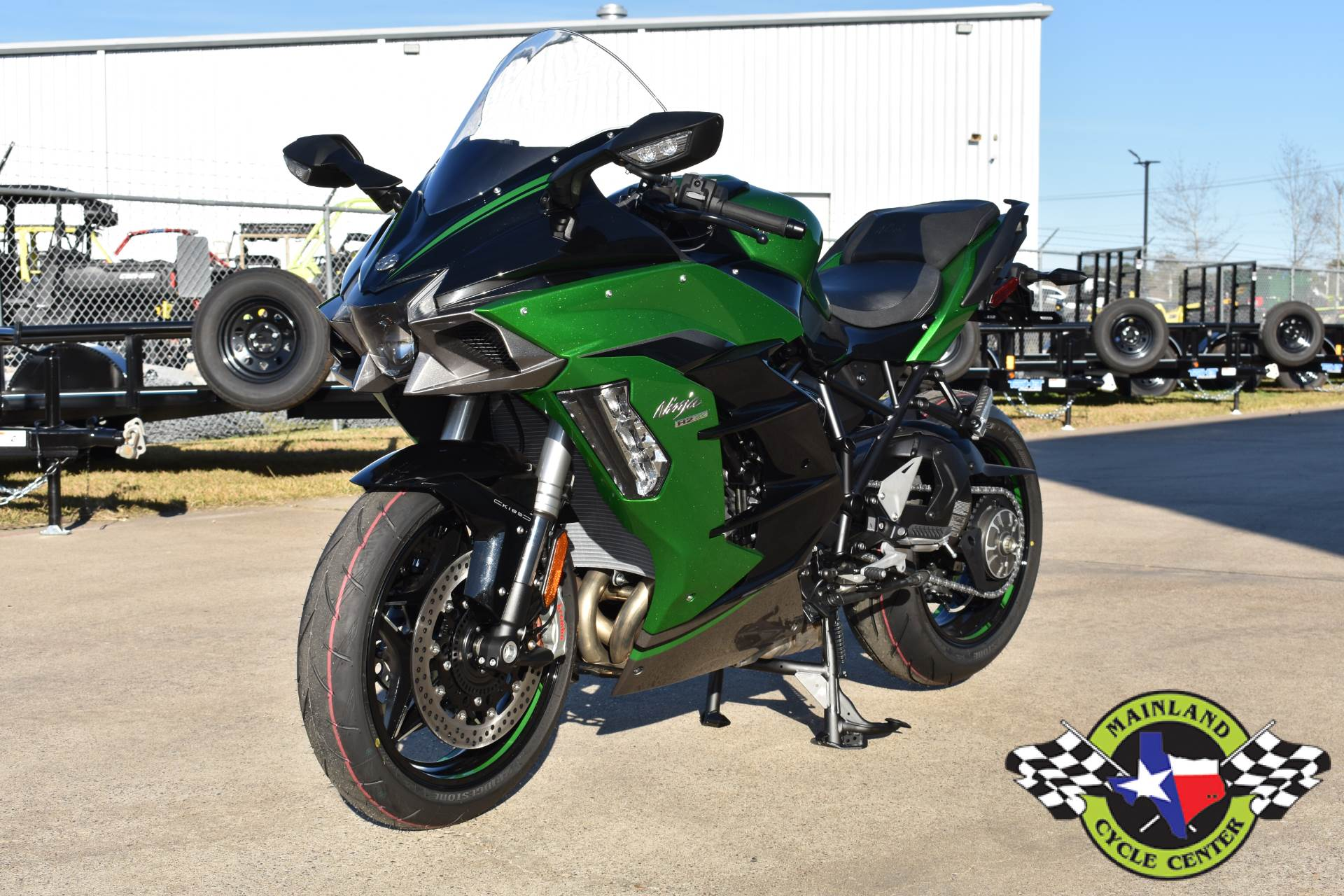 2020 Kawasaki Ninja H2 SX SE+ in La Marque, Texas - Photo 6