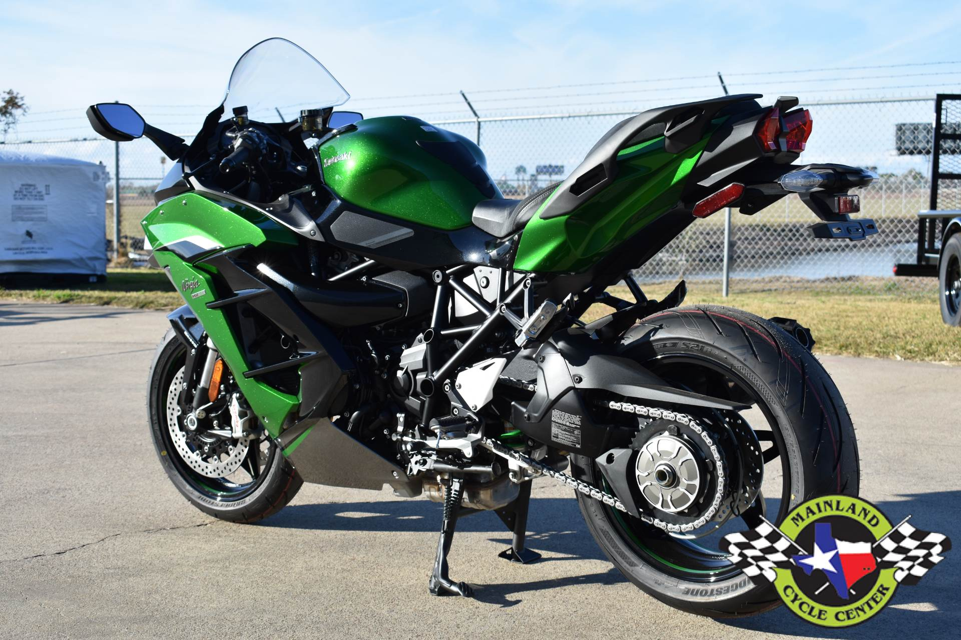 2020 Kawasaki Ninja H2 SX SE+ in La Marque, Texas - Photo 7