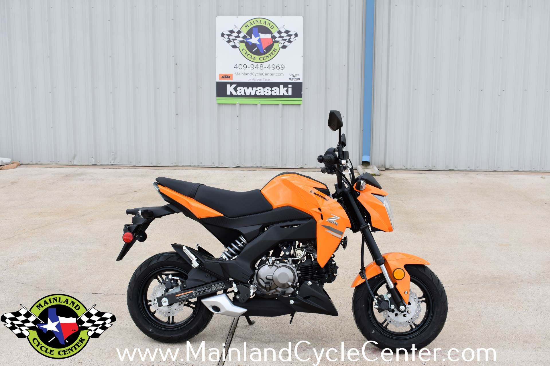 2019 Kawasaki Z125 Pro for sale 780