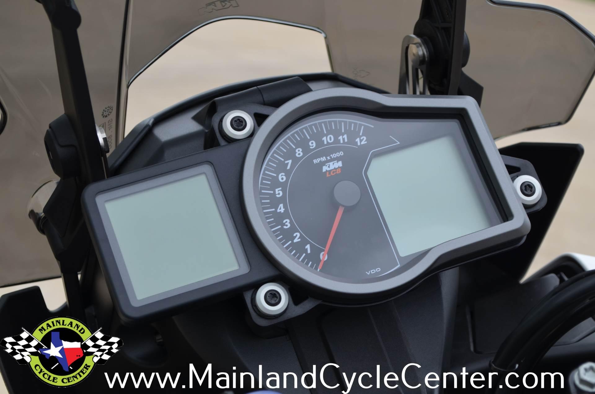 New 2018 Ktm 1090 Adventure R White Motorcycles In La Marque Tx Speedometer Assy Suzuki Spin 125 Texas
