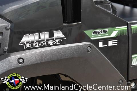2018 Kawasaki Mule PRO-FXT EPS LE in La Marque, Texas - Photo 26