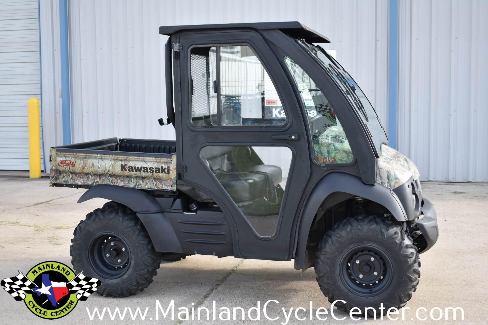 Used 2013 Kawasaki Mule™ 610 4x4 XC Camo Realtree® APG™ HD ...