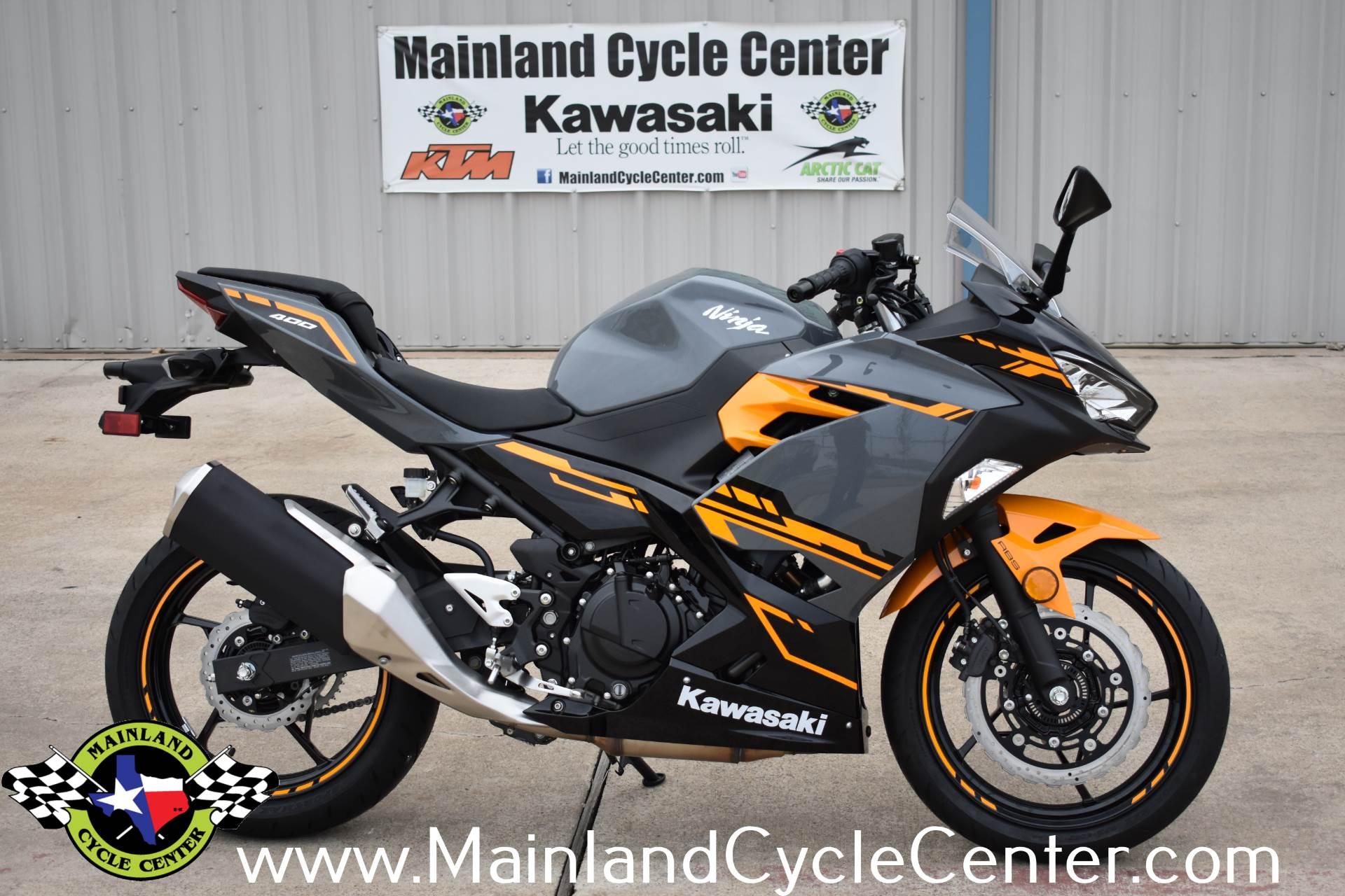 2018 Kawasaki Ninja 400 ABS In La Marque Texas