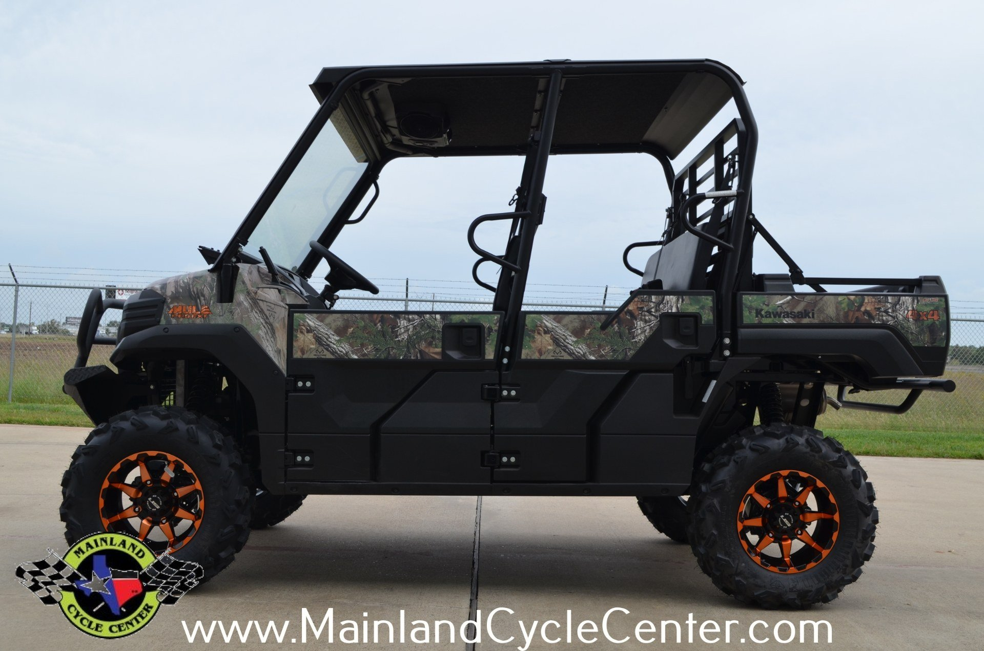 2016 Kawasaki Mule Pro-FXT EPS Camo in La Marque, Texas - Photo 5