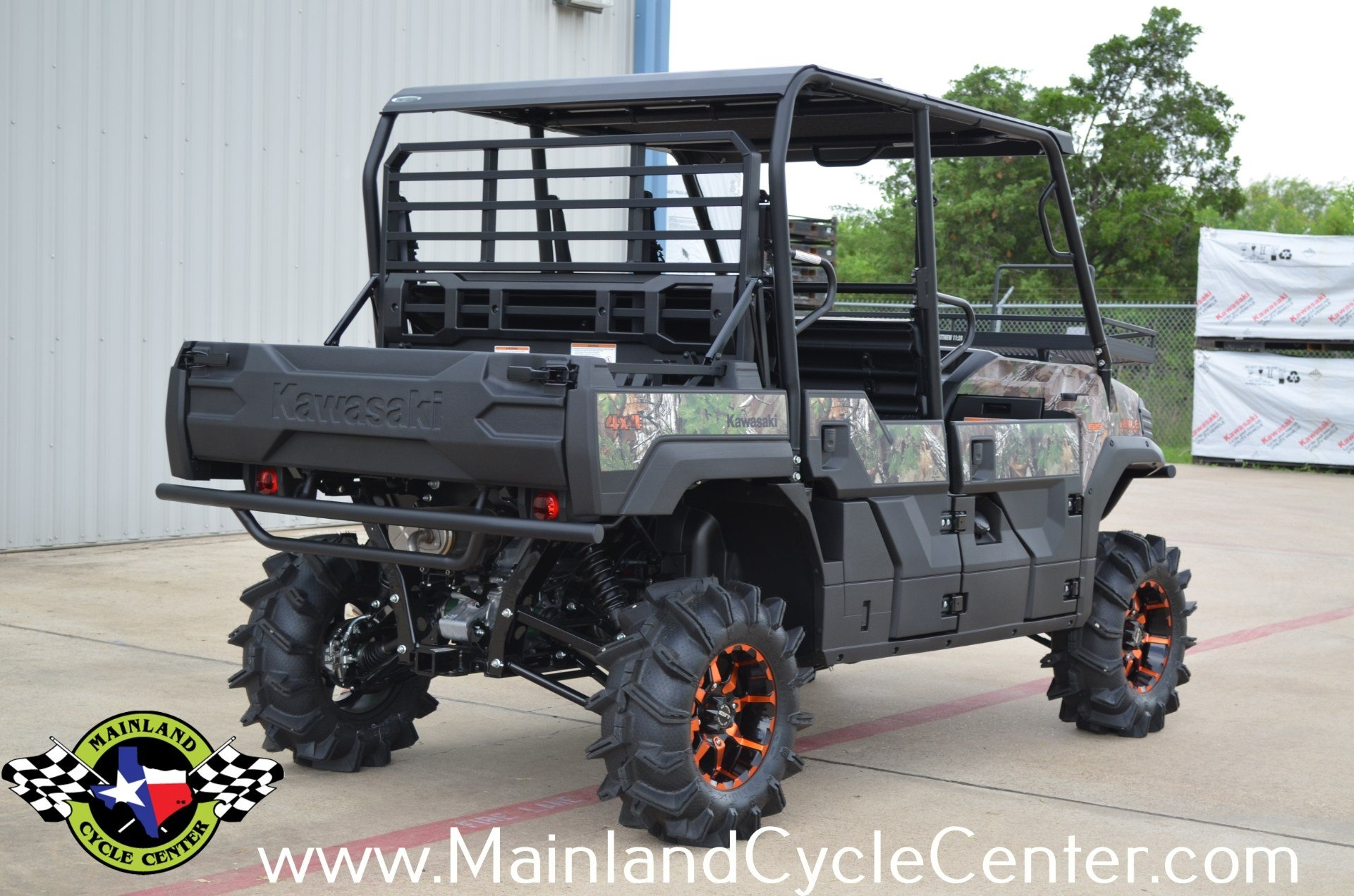 2016 Kawasaki Mule Pro-FXT EPS Camo in La Marque, Texas - Photo 4