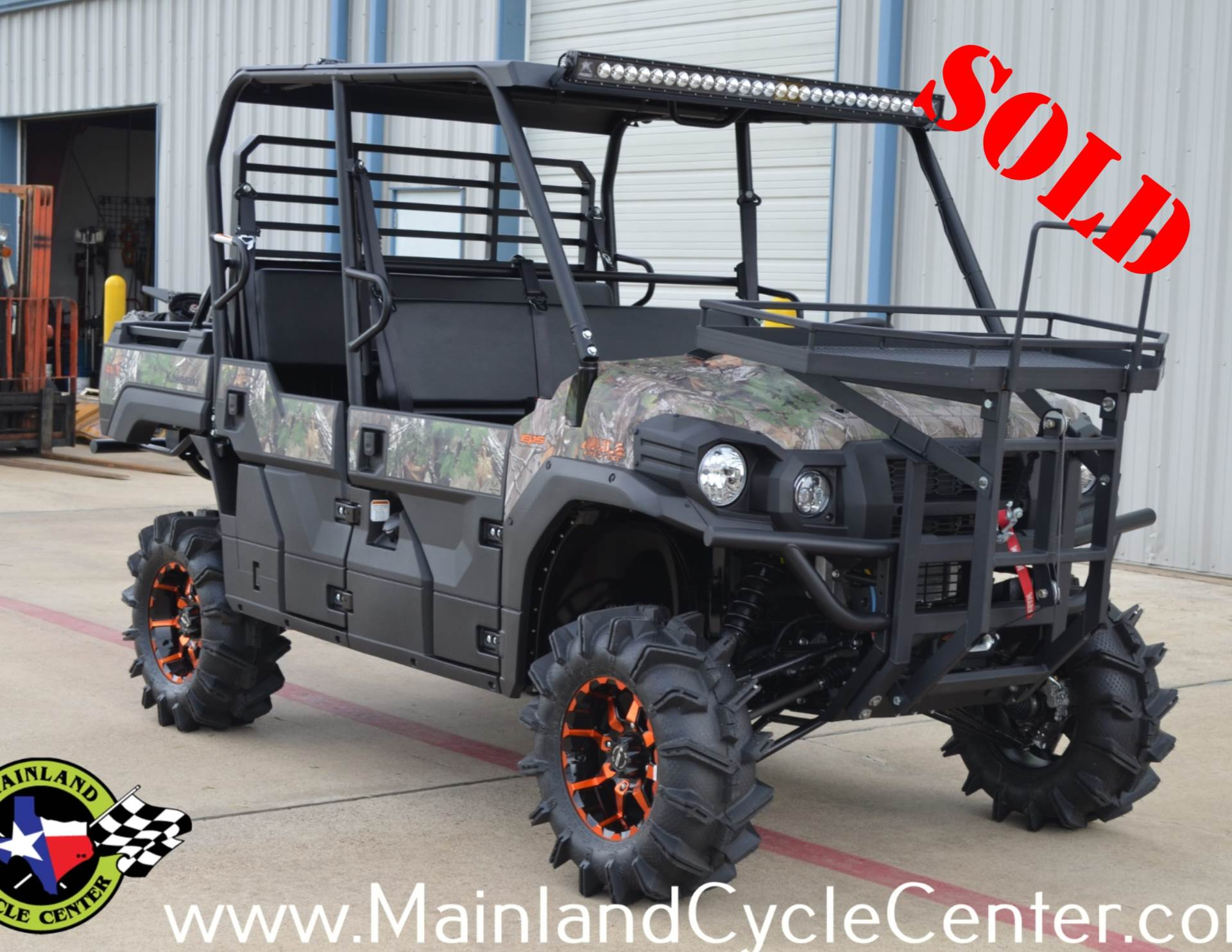 2016 Kawasaki Mule Pro-FXT EPS Camo in La Marque, Texas - Photo 1