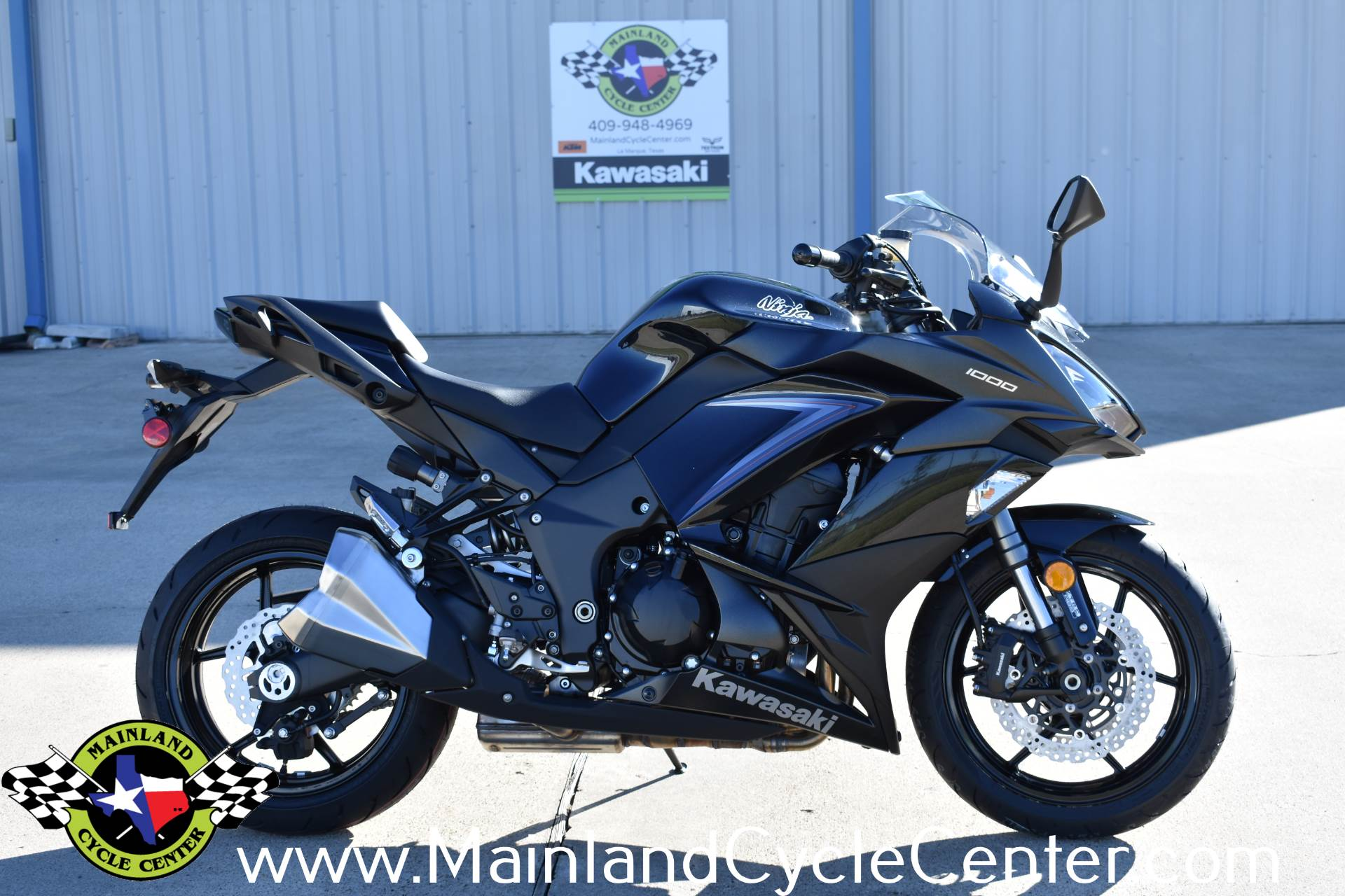 New 2019 Kawasaki Ninja 1000 Abs Metallic Spark Black Metallic