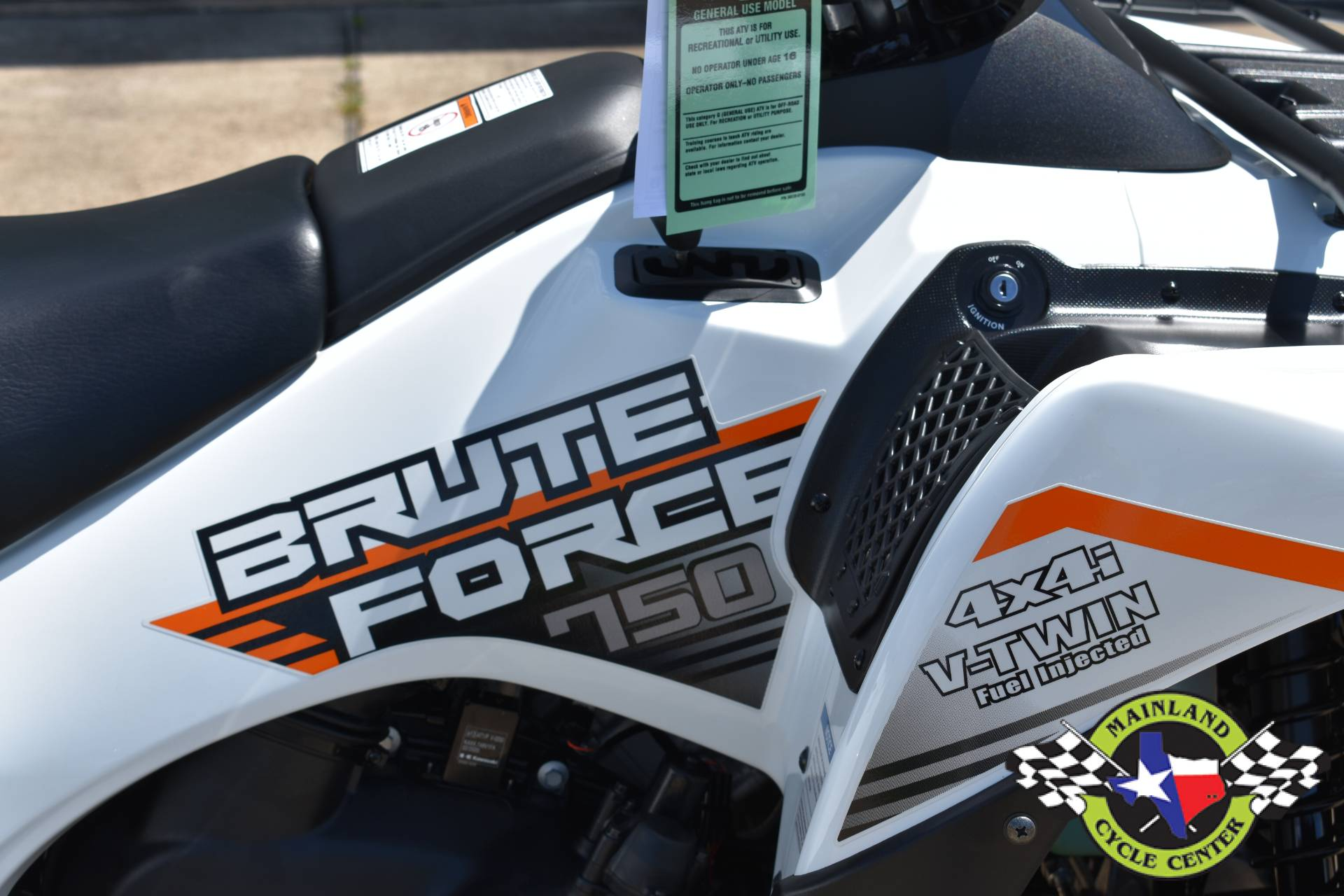 2021 Kawasaki Brute Force 750 4x4i EPS in La Marque, Texas - Photo 11