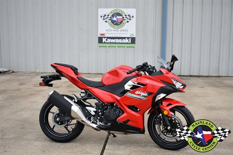2021 Kawasaki Ninja 400 ABS in La Marque, Texas - Photo 2