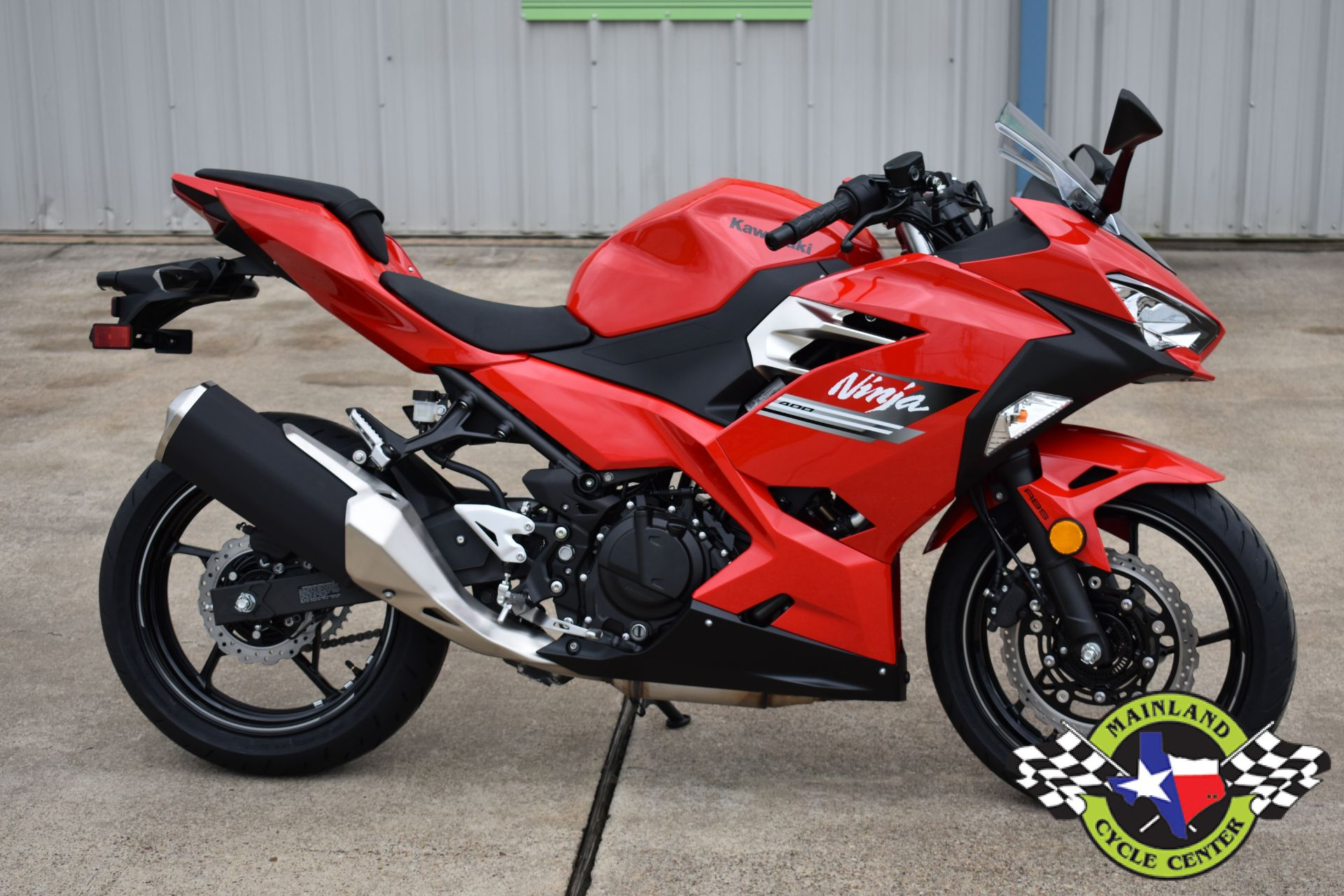 2021 Kawasaki Ninja 400 ABS in La Marque, Texas - Photo 1