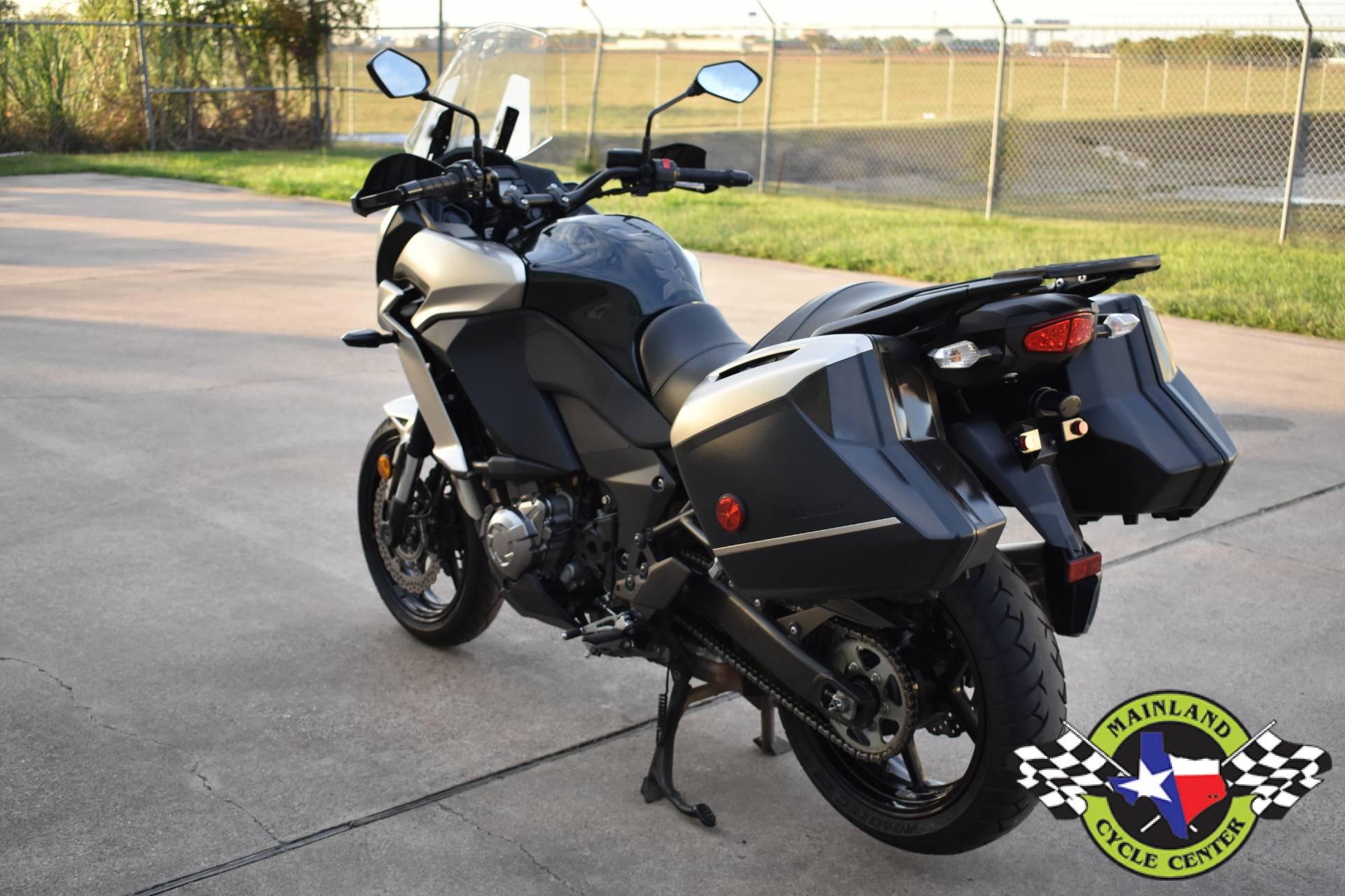 Used 2016 Kawasaki Versys 1000 LT Metallic Raw Titanium