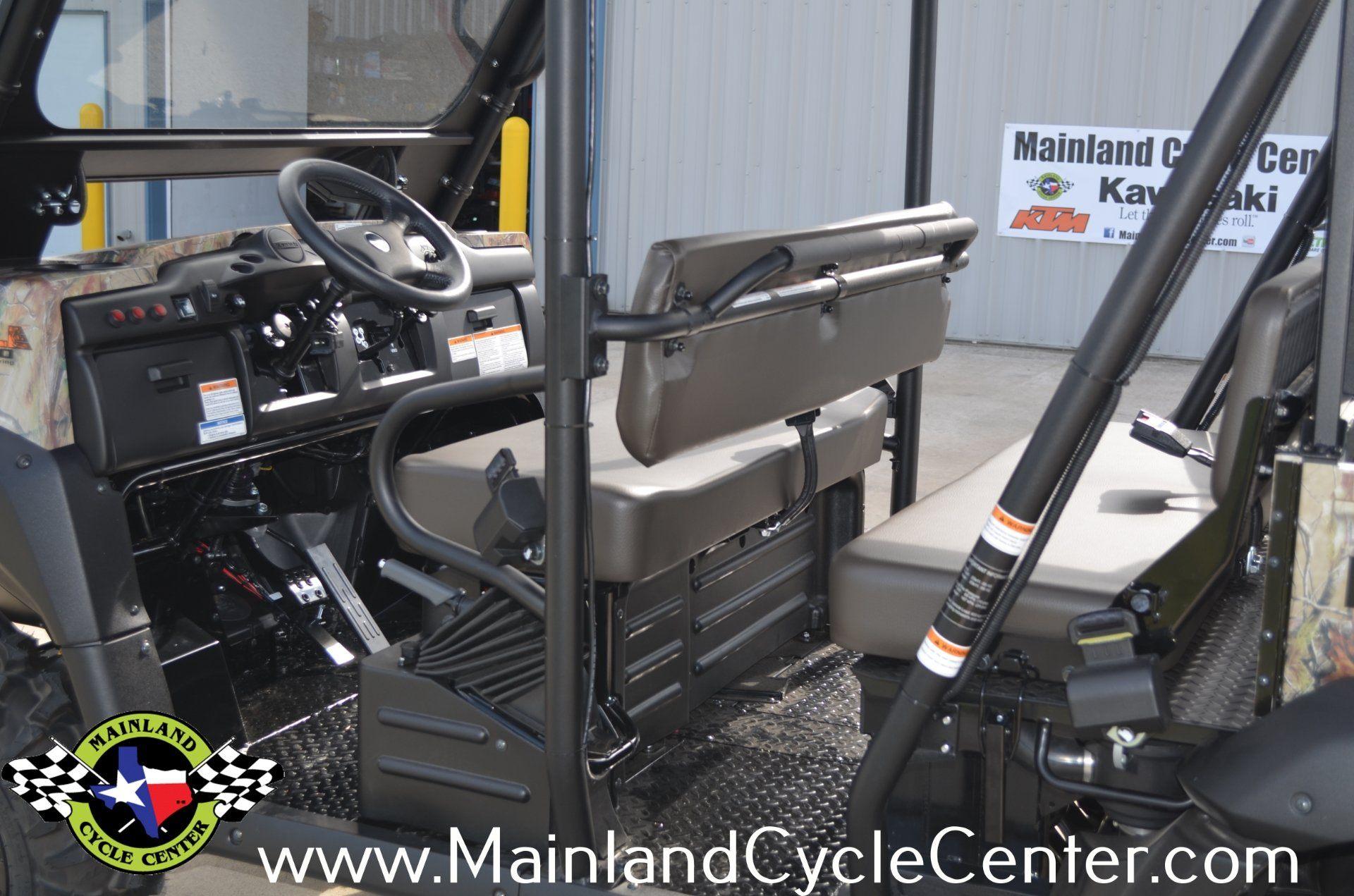New 2014 Kawasaki Mule™ 4010 Trans4x4® Camo Realtree® APG