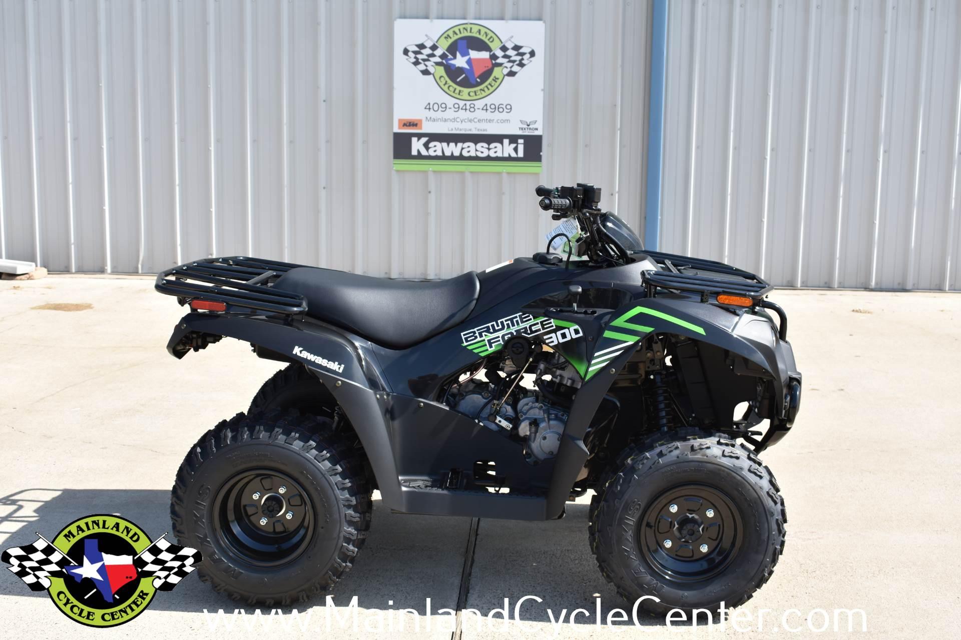 New 2020 Kawasaki Brute Force 300 Super Black Atvs In La