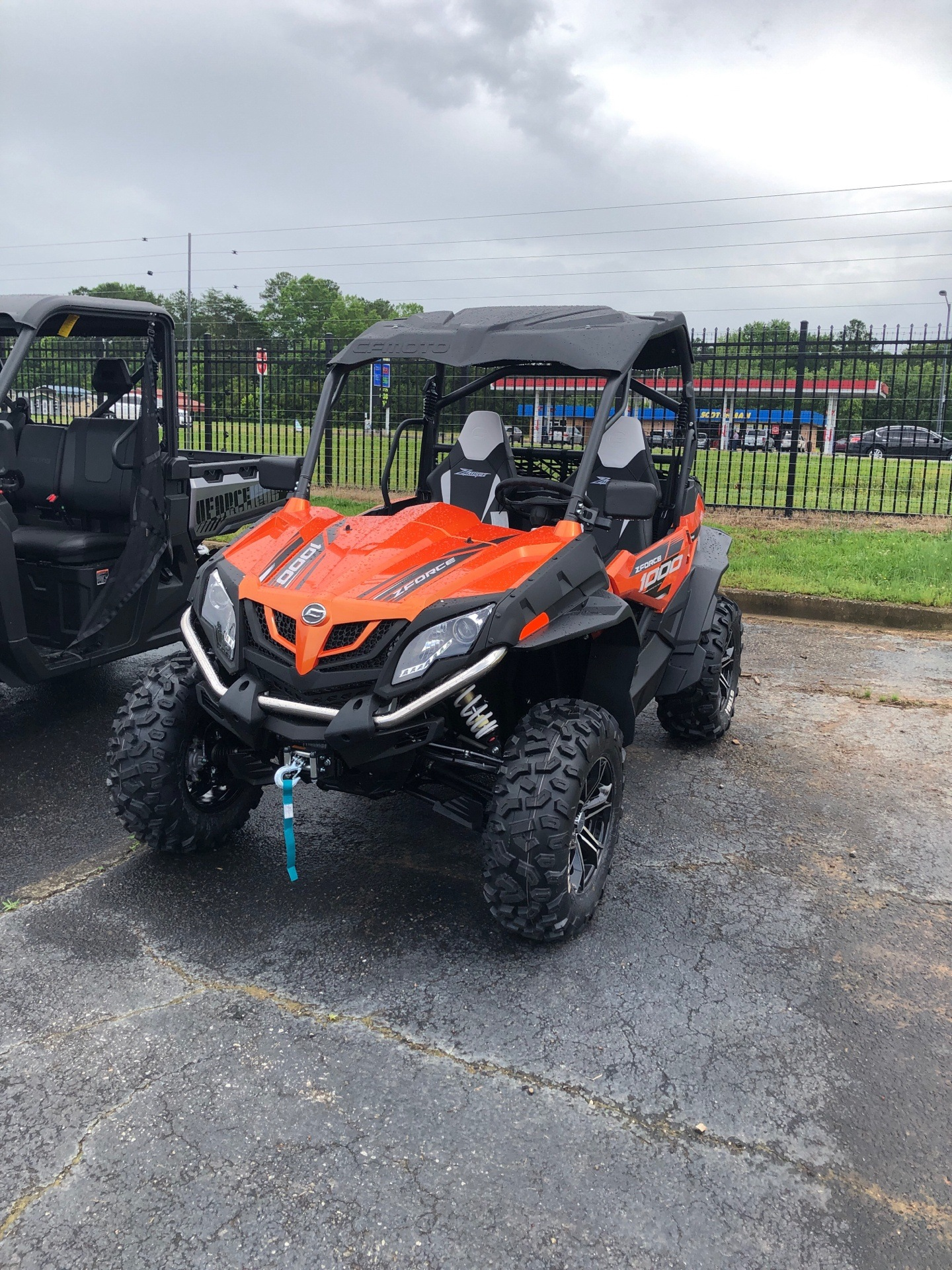 2019 CFMOTO ZForce 1000 in Lancaster, South Carolina - Photo 2