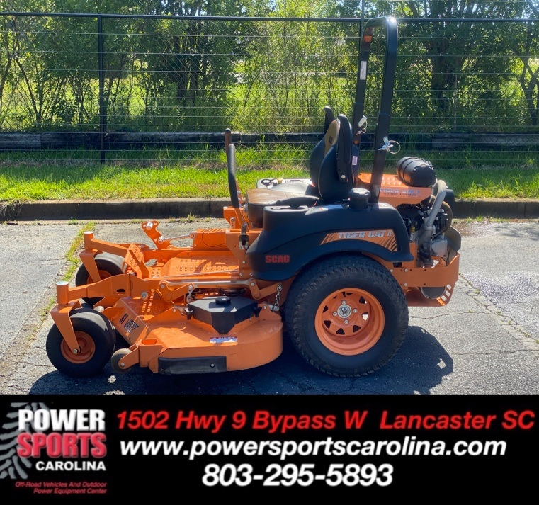 2019 SCAG Power Equipment Tiger Cat II 61 in. Kohler EFI 29 hp in Lancaster, South Carolina - Photo 1