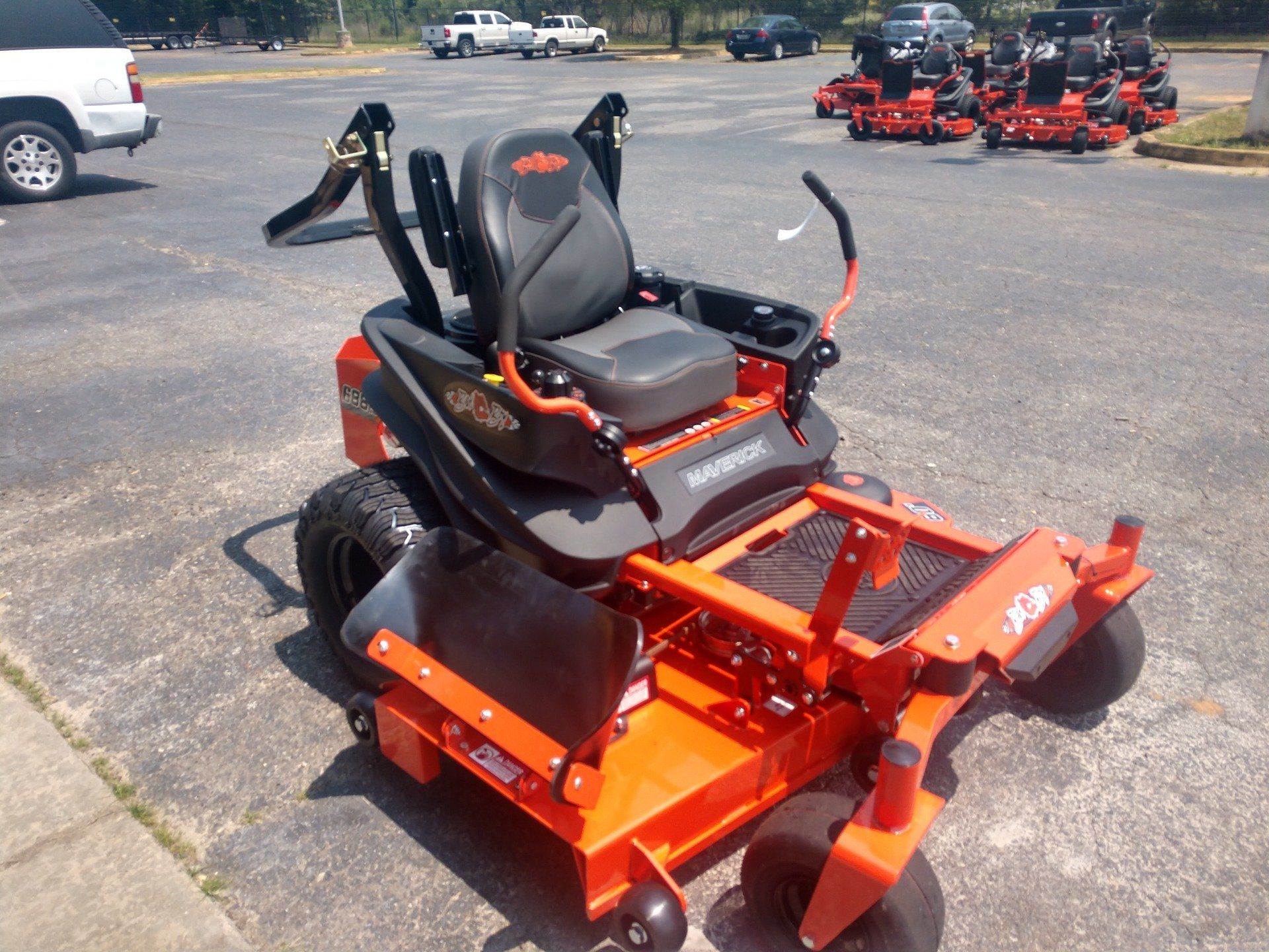 2019 Bad Boy Mowers 6000 Honda CXV630 Maverick in Lancaster, South Carolina - Photo 2