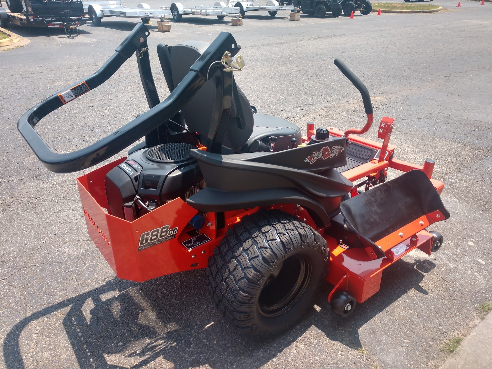 2019 Bad Boy Mowers 6000 Honda CXV630 Maverick in Lancaster, South Carolina - Photo 3