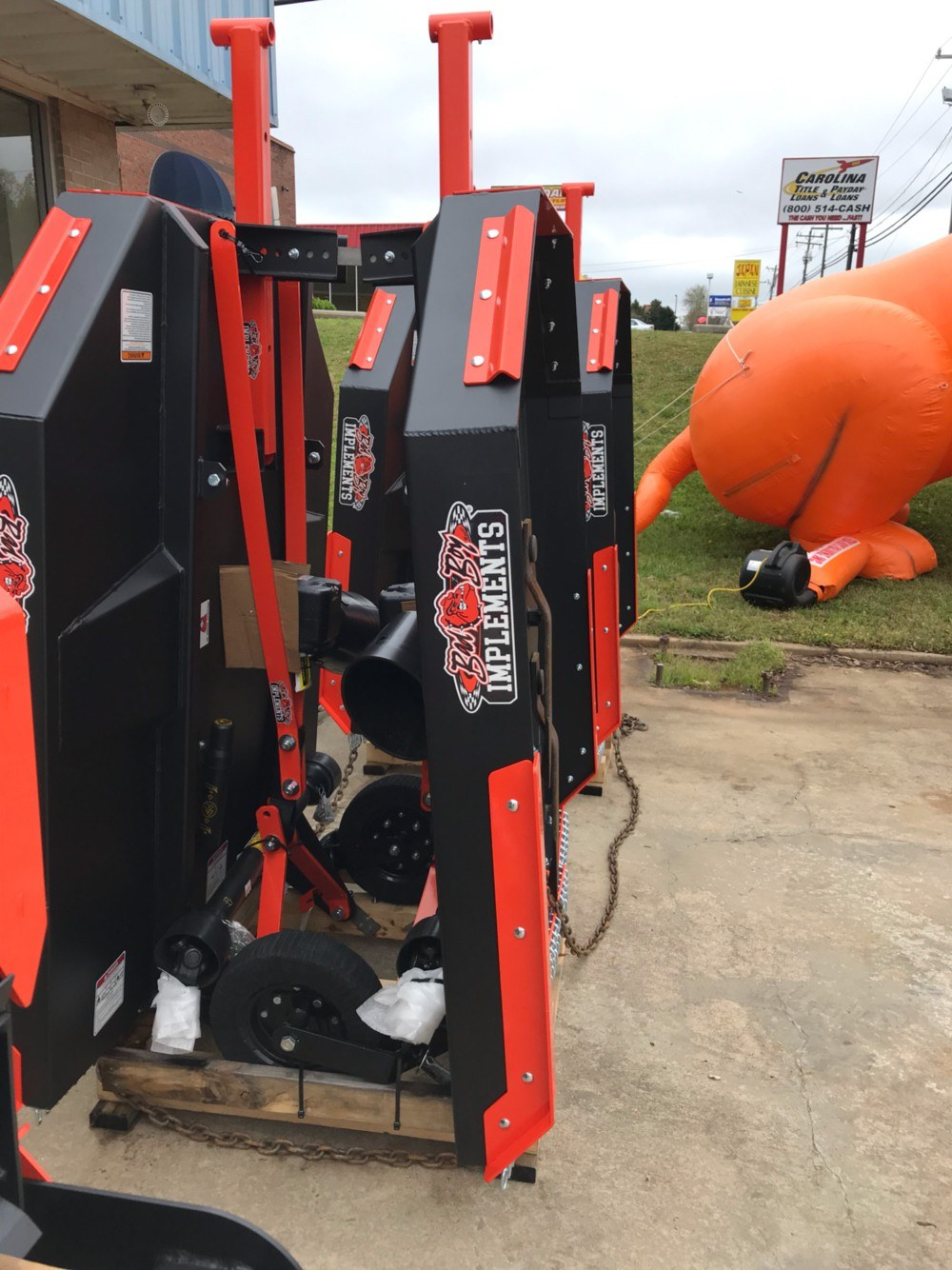 "2019 Bad Boy Mowers Bad Boy 60"" Brush Cutter in Lancaster, South Carolina - Photo 1"