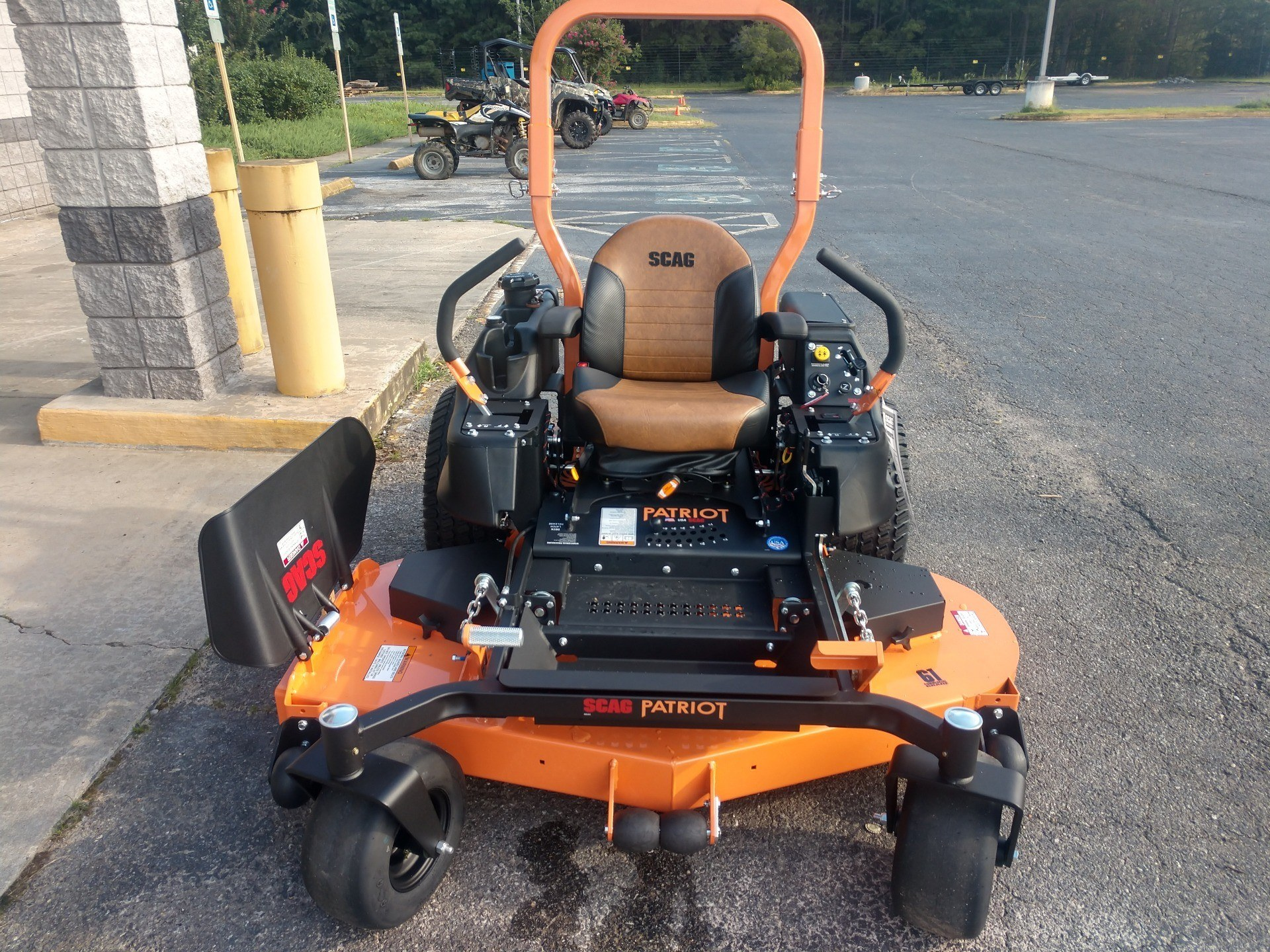 2019 SCAG Power Equipment Patriot Z 61 in. Kawasaki FX730 23 hp in Lancaster, South Carolina - Photo 1