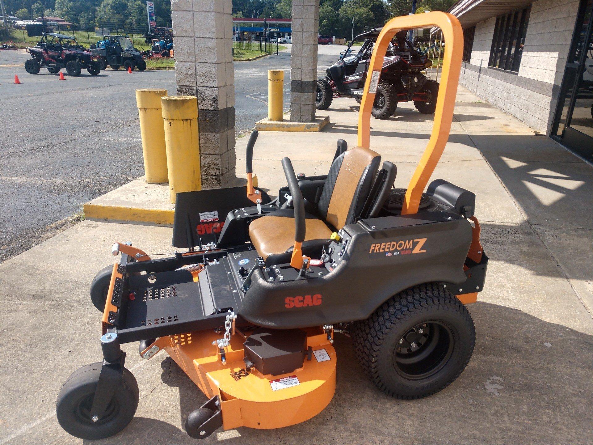 New 2019 Scag Power Equipment Freedom Z 52 In  Kohler 24