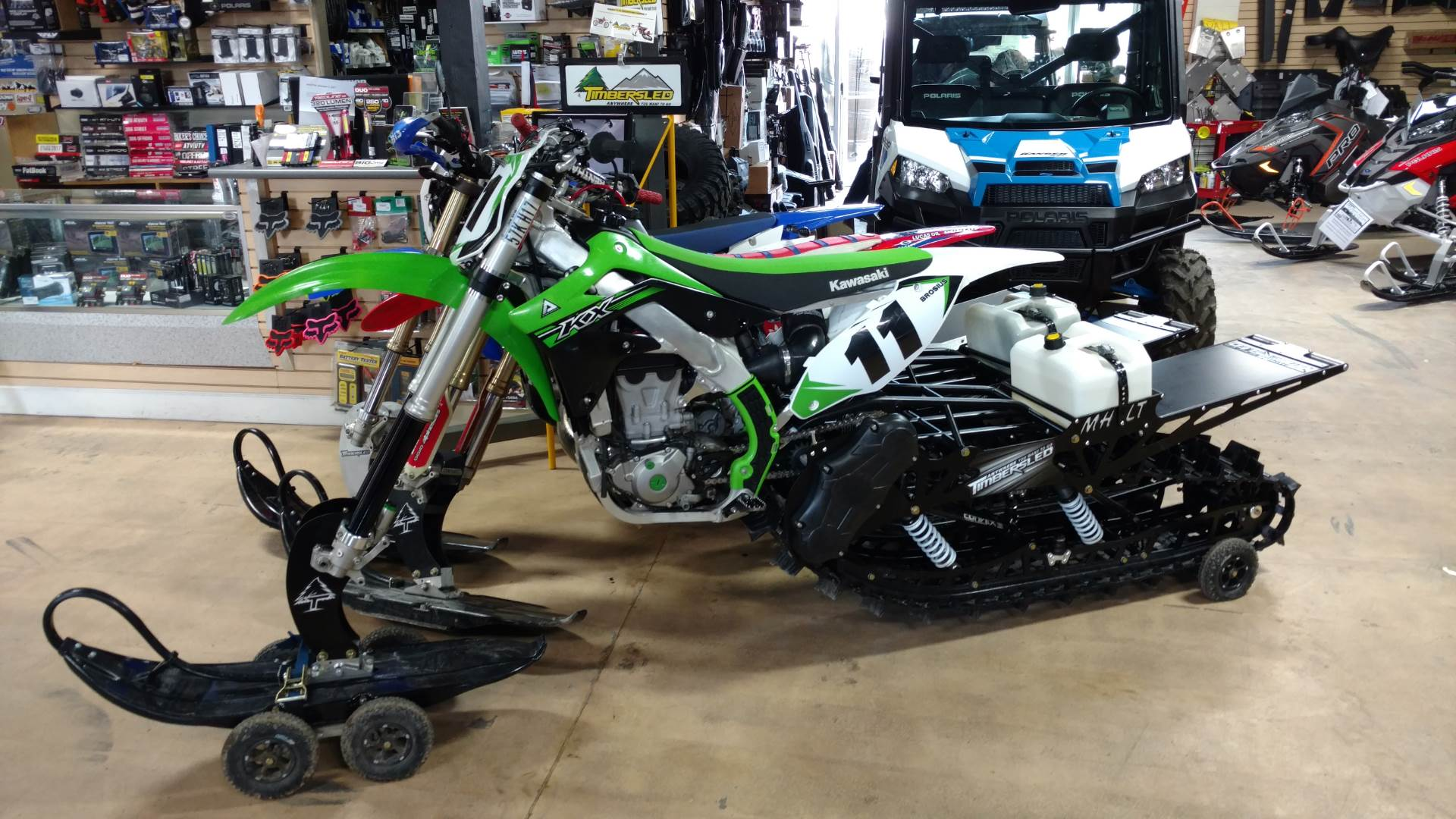 2015 Kawasaki KX™450F in Auburn, California